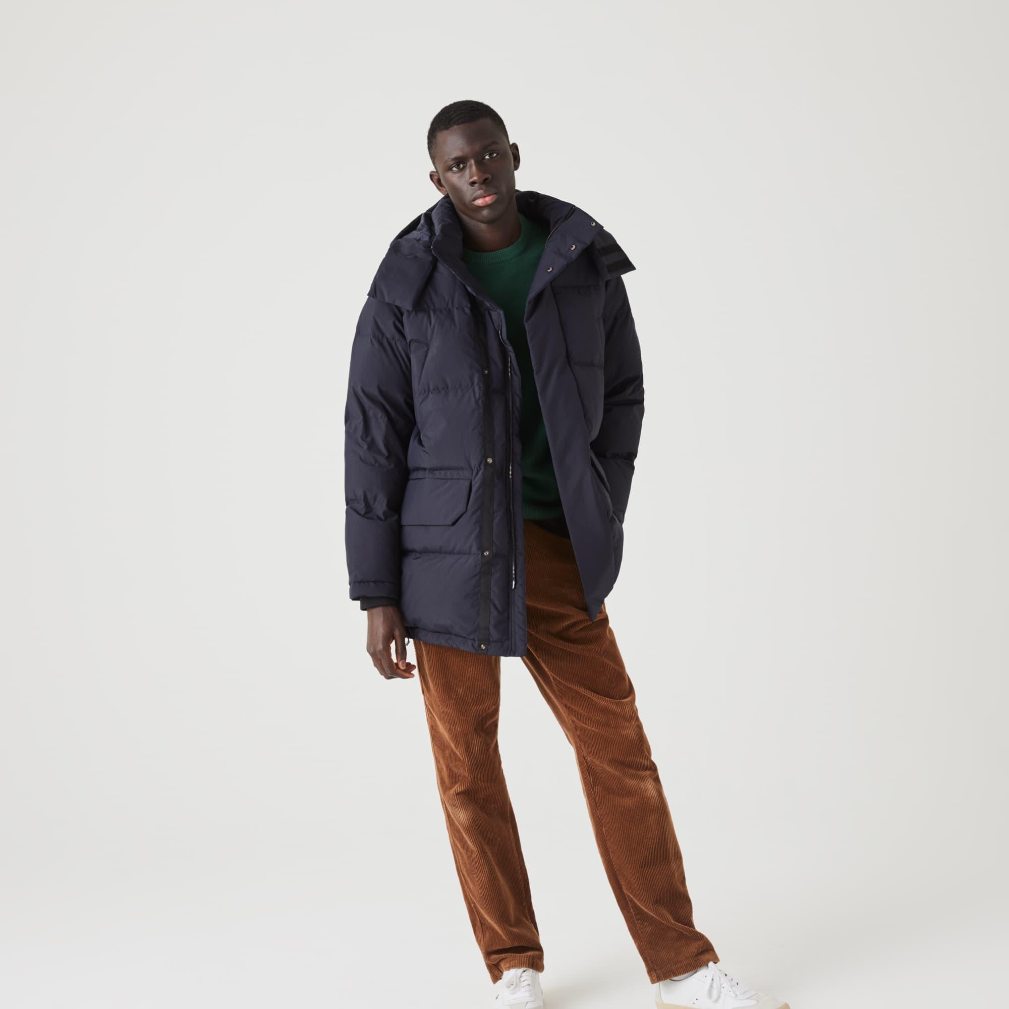 라코스테 맨 후드 롱패딩 Lacoste Mens Detachable Hood Long Puffer Coat