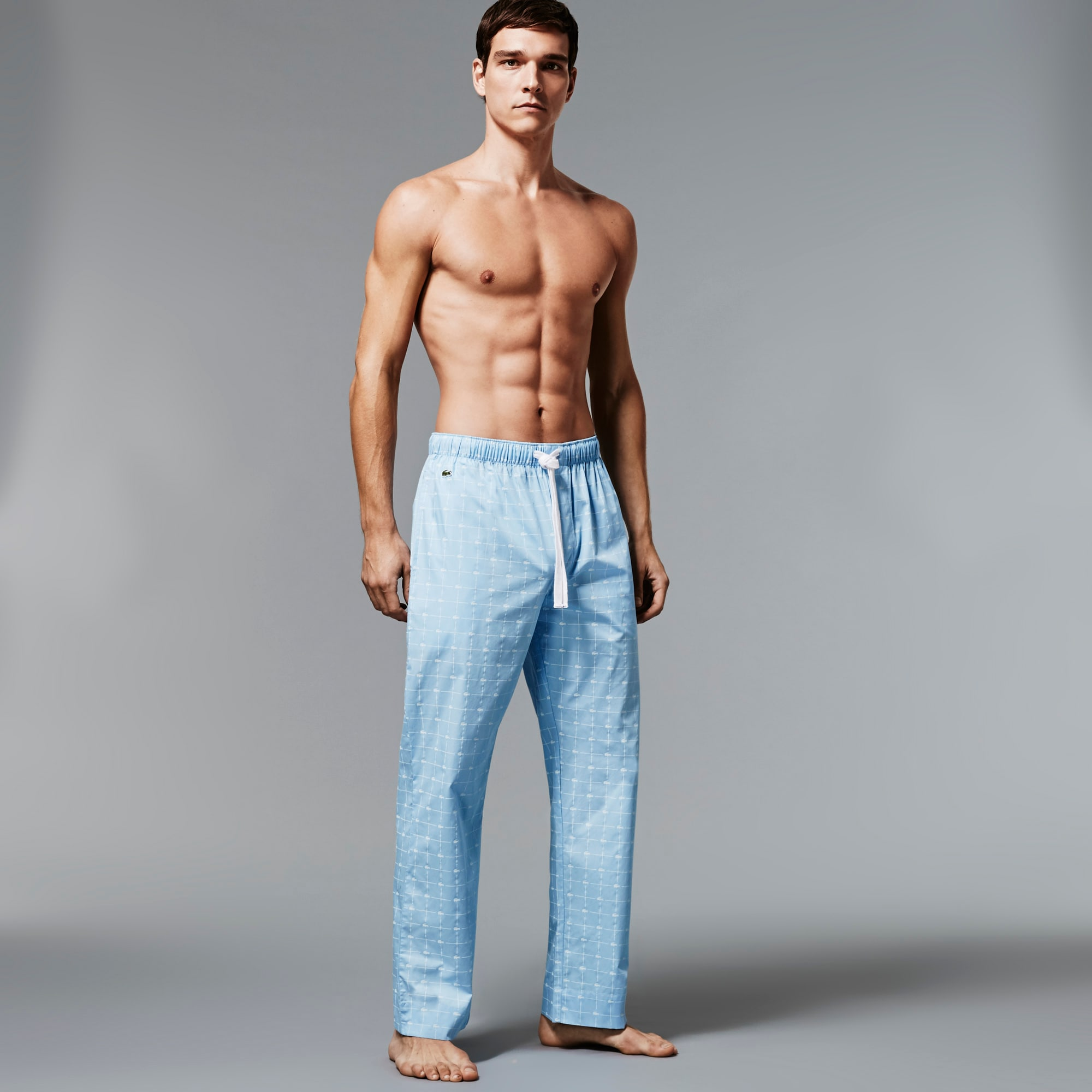 Men's Signature Print Woven Pant
