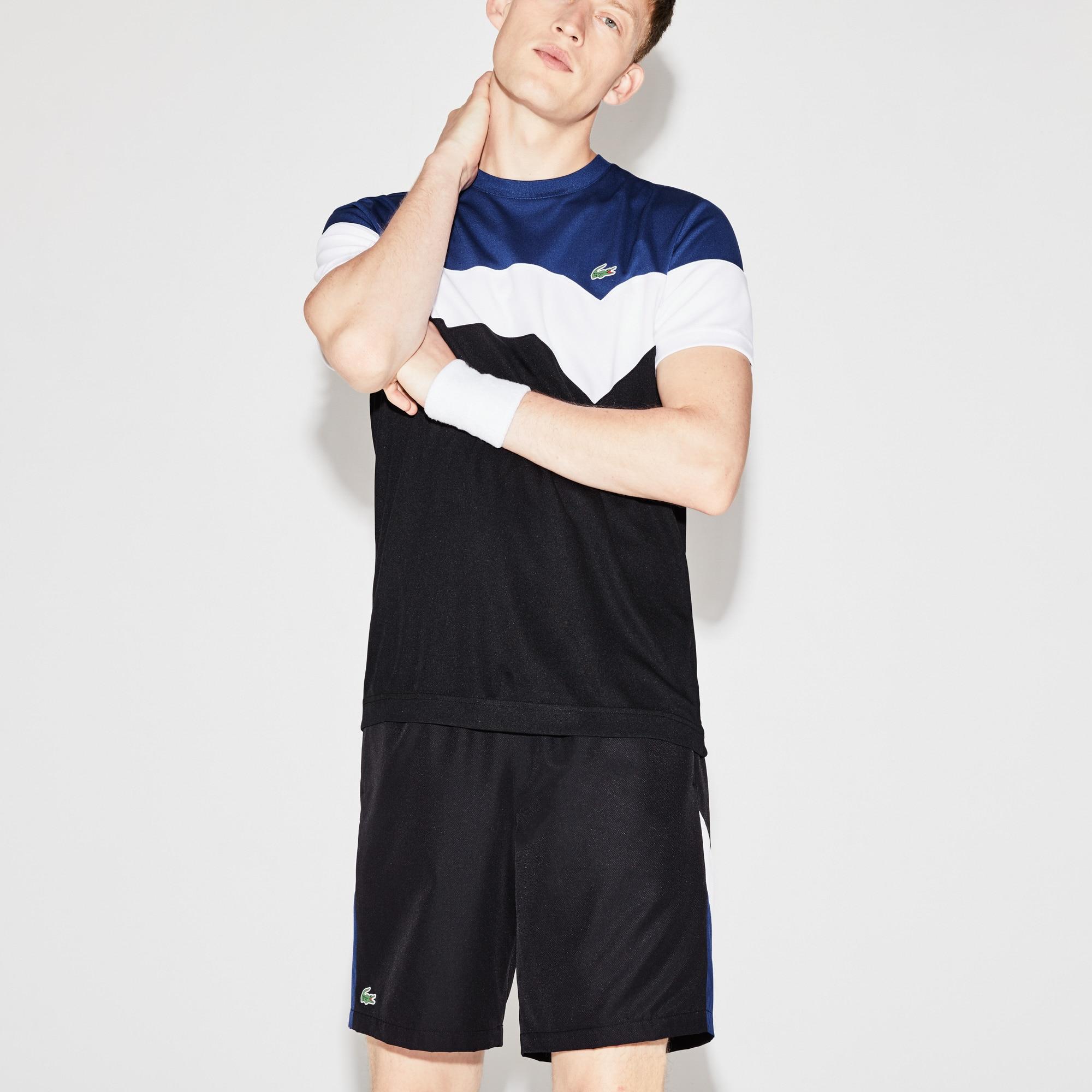 Men's  SPORT Tennis Colorblock Technical Piqué T-shirt