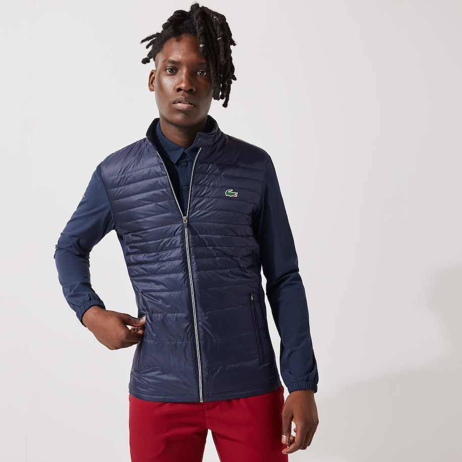 Men's SPORT Lightweight Water-Resistant Quilted Golf Jacket