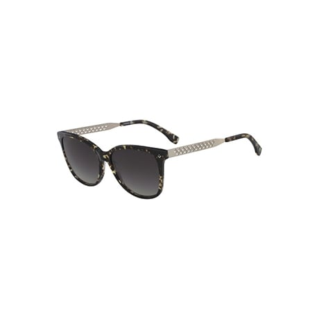 Women's Stainless Steel and Plastic Cateye Petite Pique Sunglasses