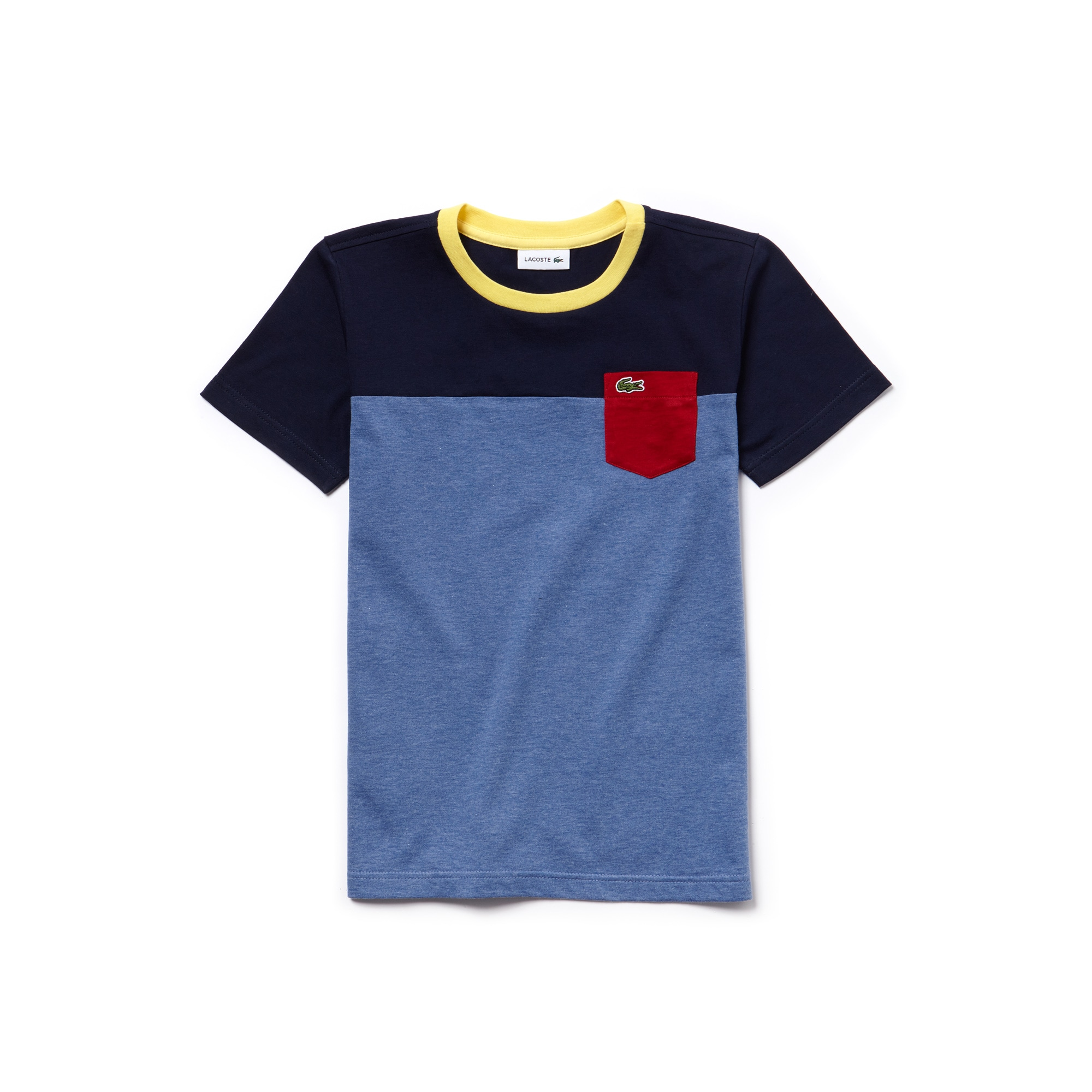 Boys' Colorblock Cotton Jersey T-shirt