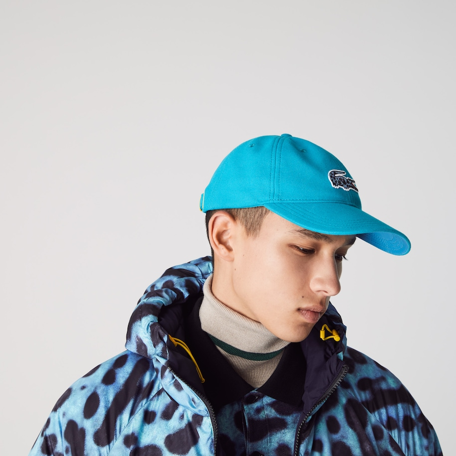 Men's Lacoste x National Geographic Cotton Piqué Cap