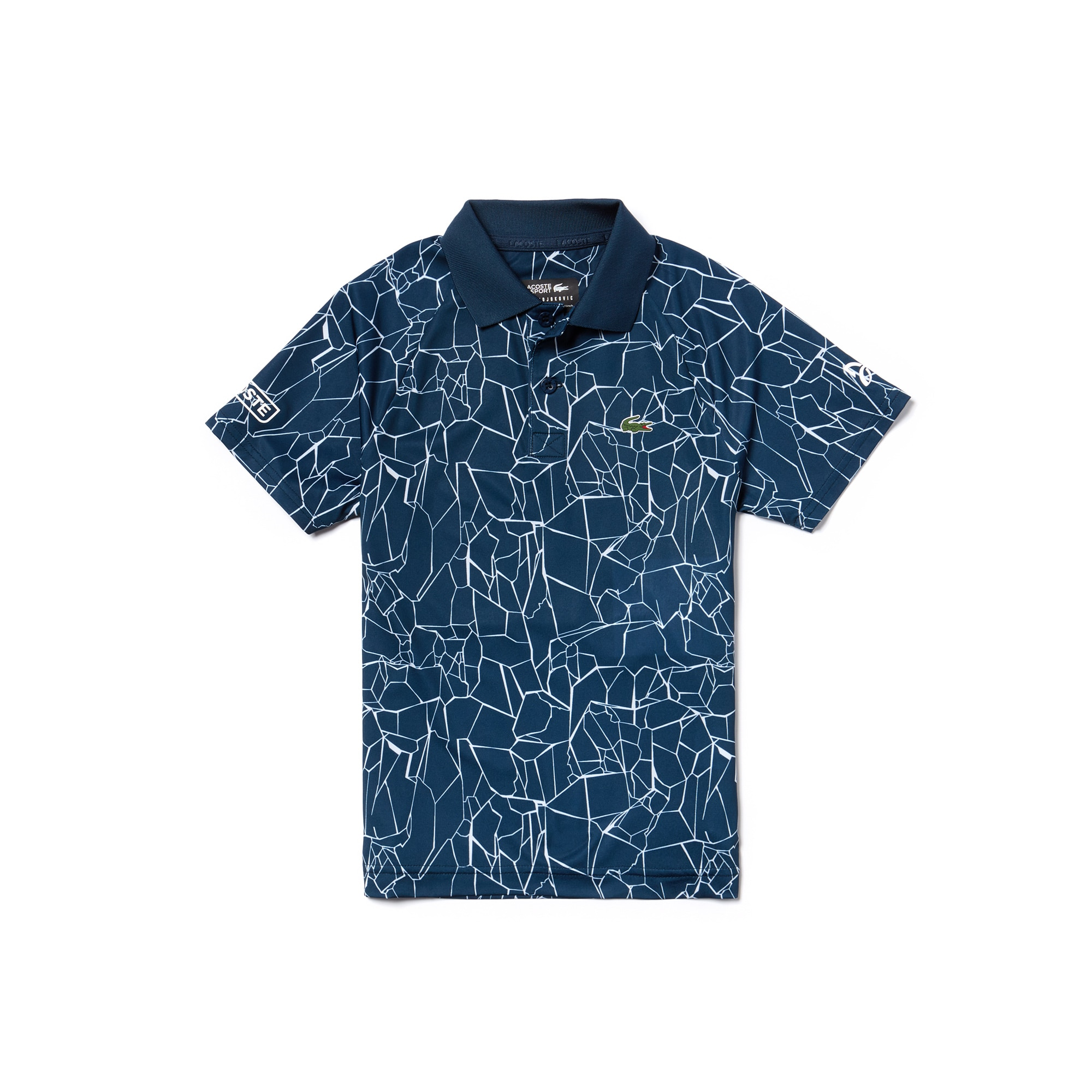 Boys' SPORT Print Technical Jersey Polo-  x Novak Djokovic Off Court Premium Edition
