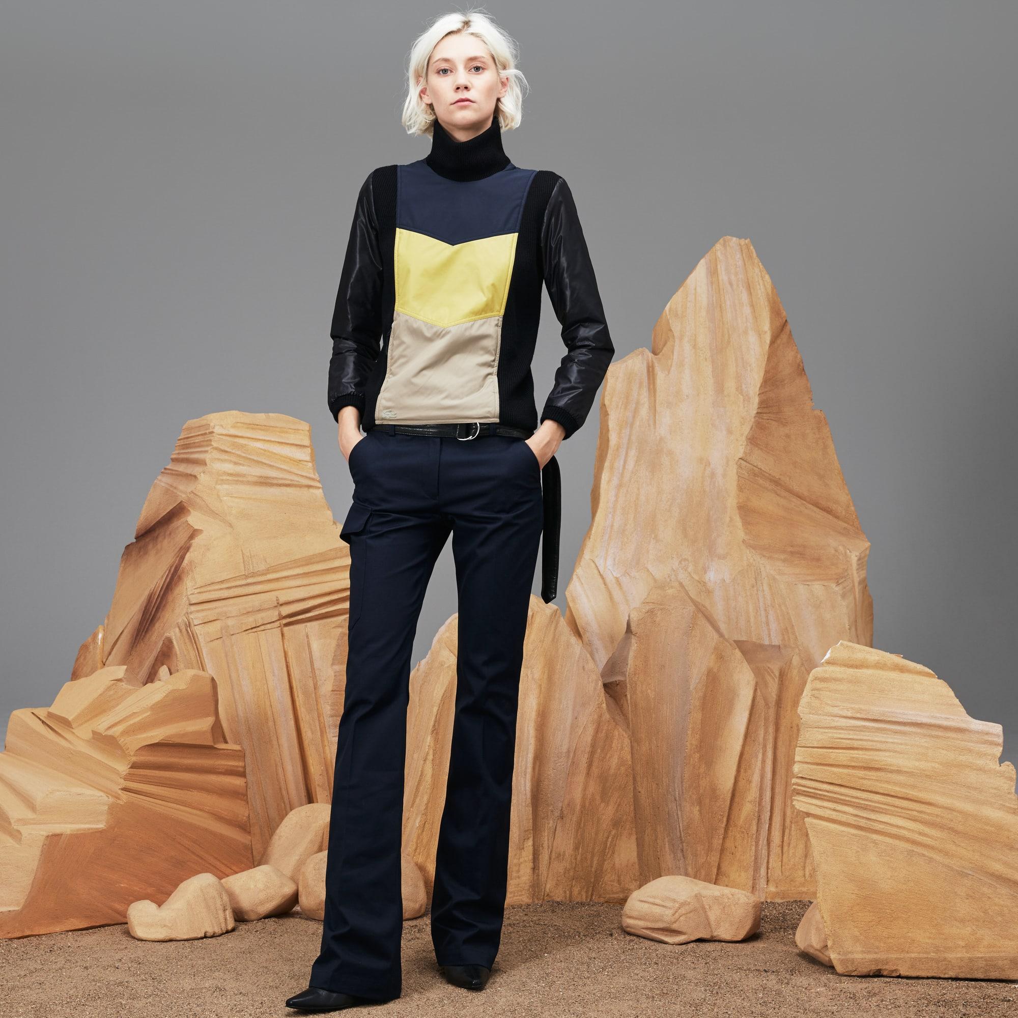 Women's Fashion Show Water-Resistant Cotton Gabardine Pants
