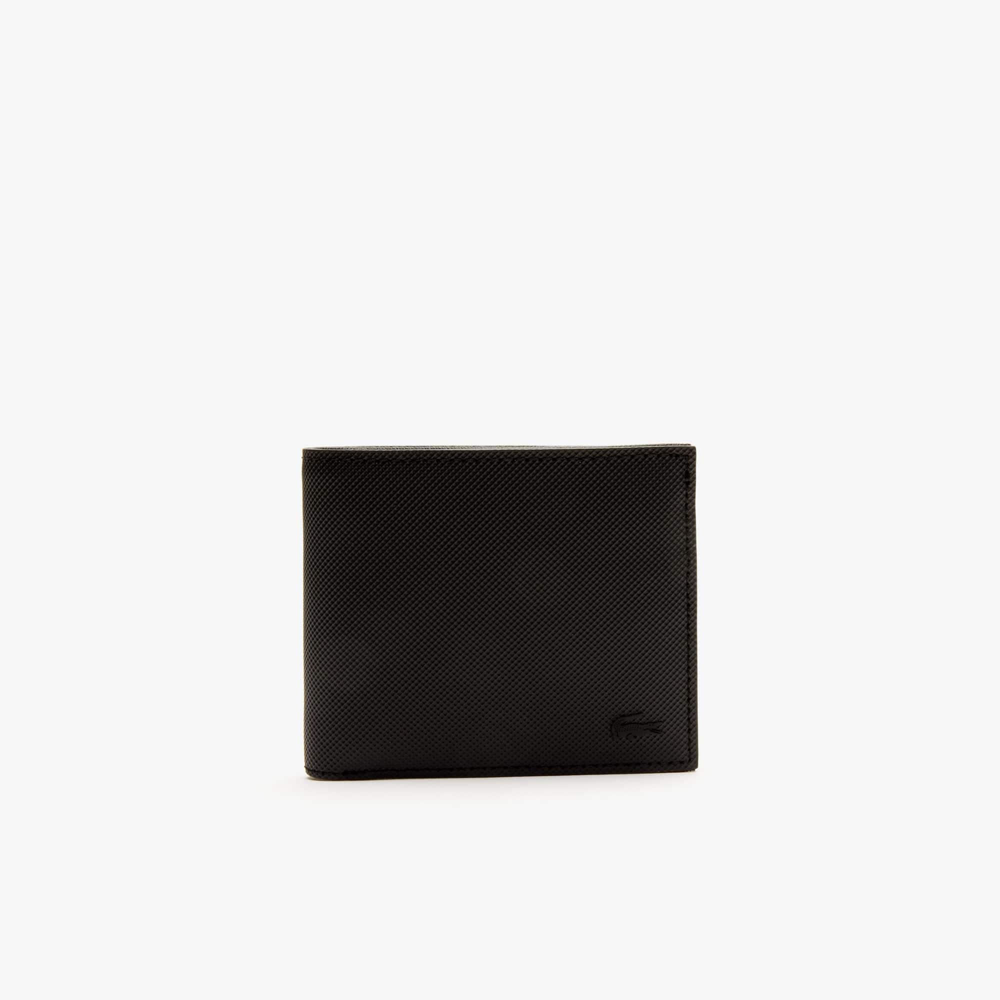 Men's Classic Petit Piqué Three Card Wallet