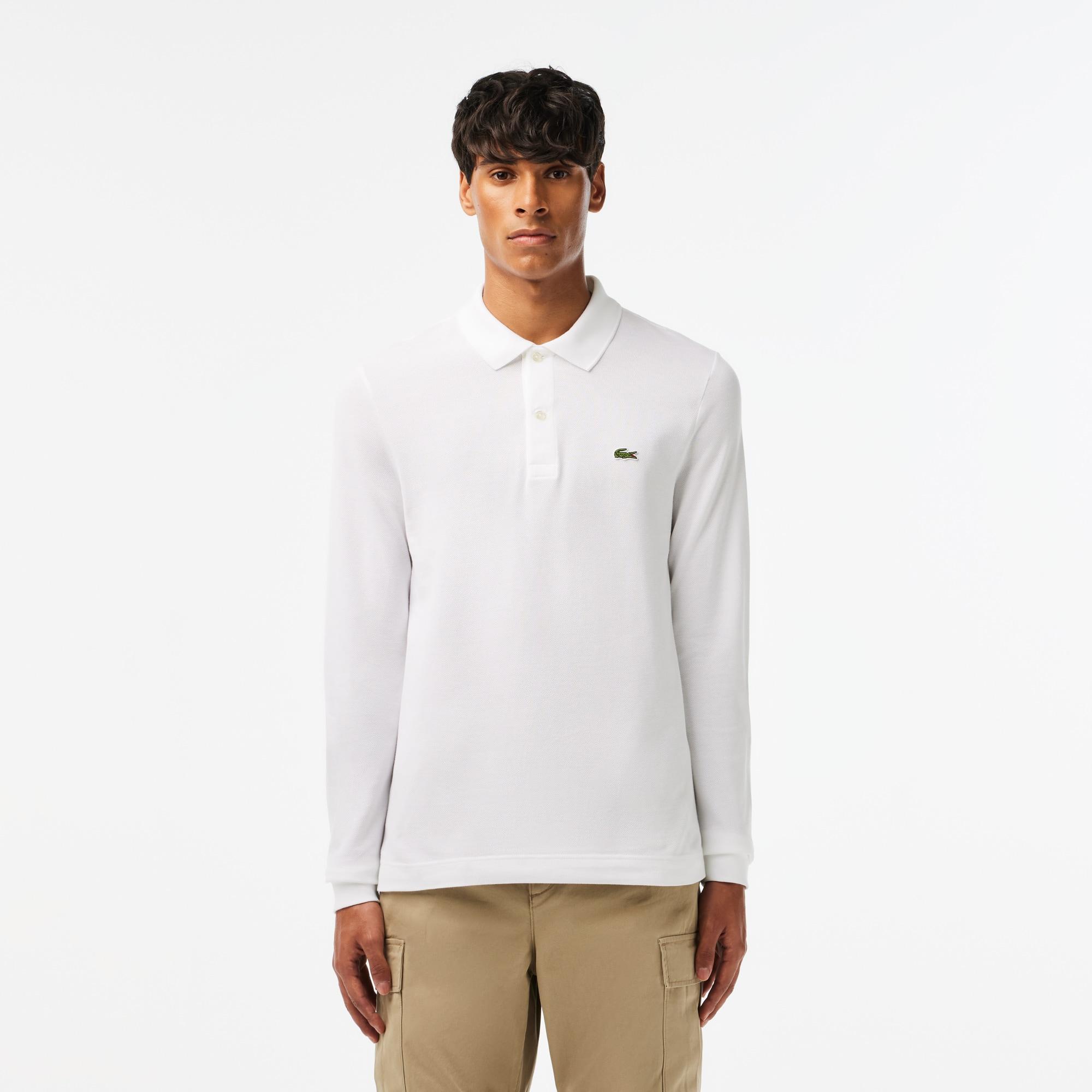 Mens Lacoste Slim Fit Petit Pique Polo Shirt
