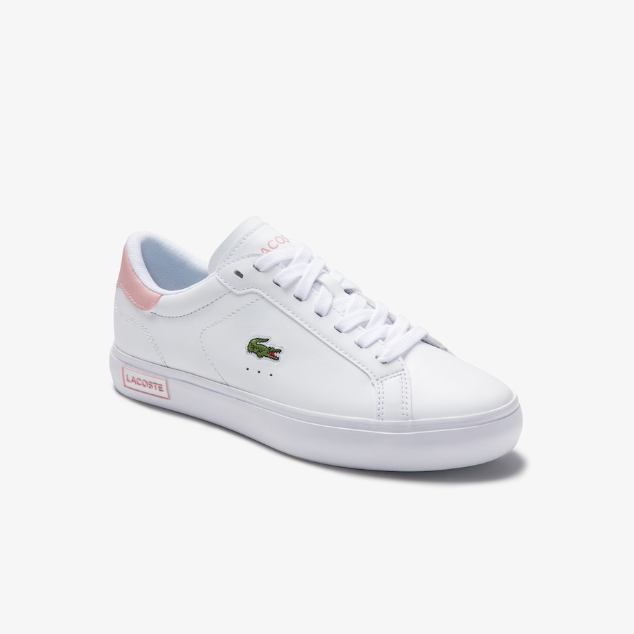 Women's Powercourt Leather Trainers