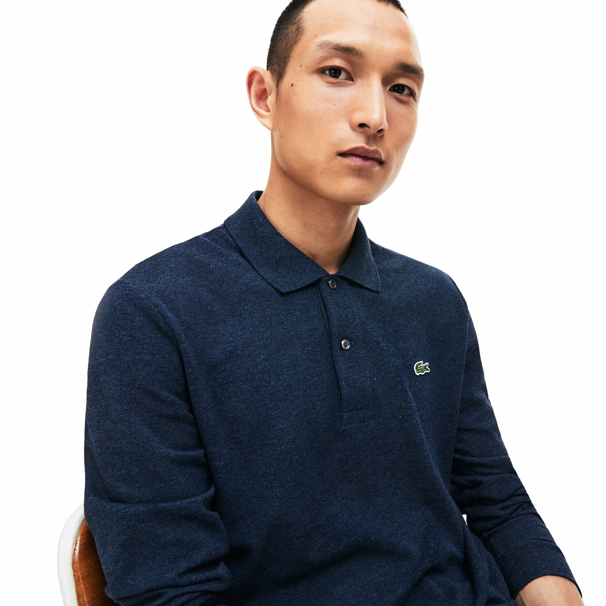 Men/'s Lacoste Men/'s Classic Fit Long Sleeve Polo Shirt