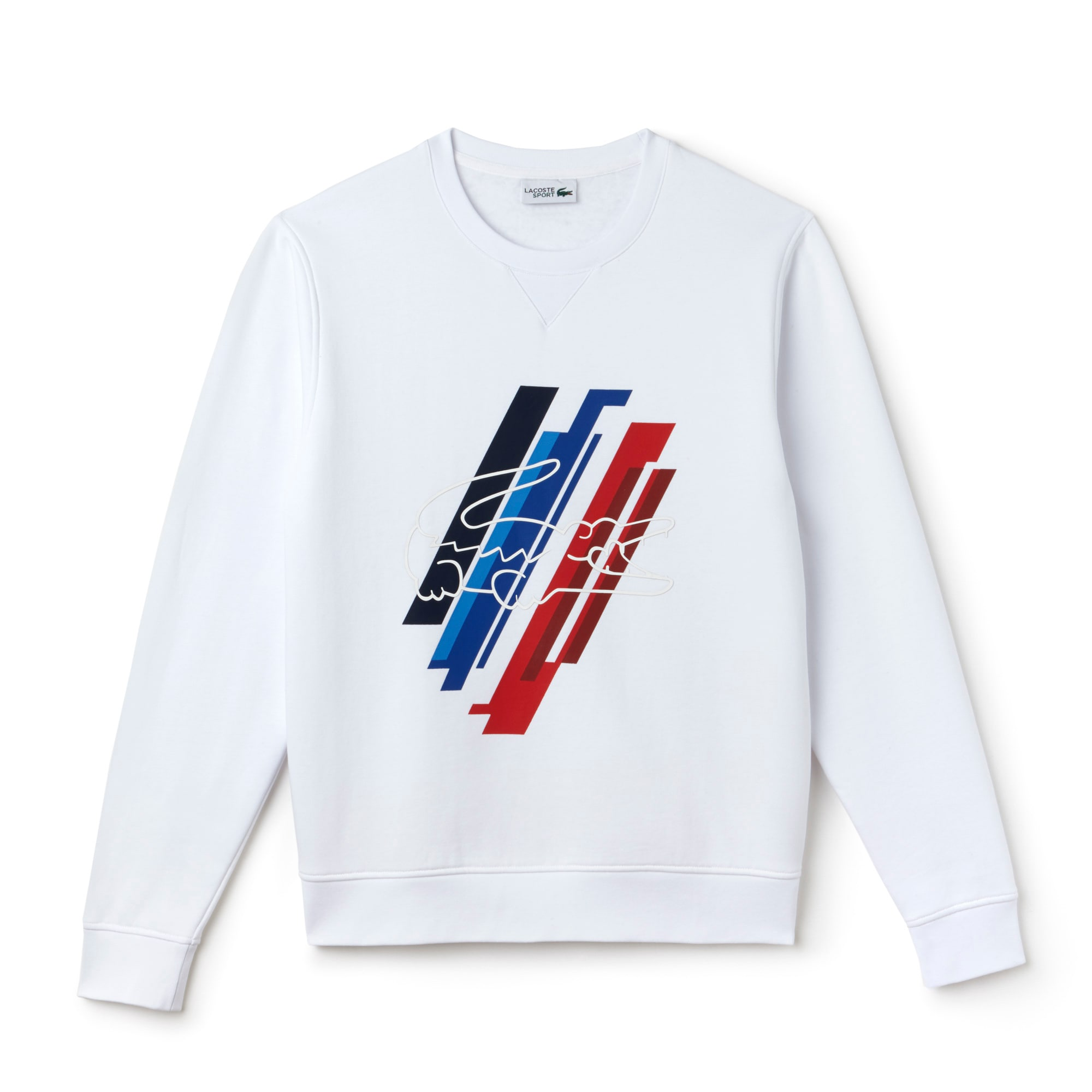 Men's Tricolor Collection Print Fleece Sweatshirt