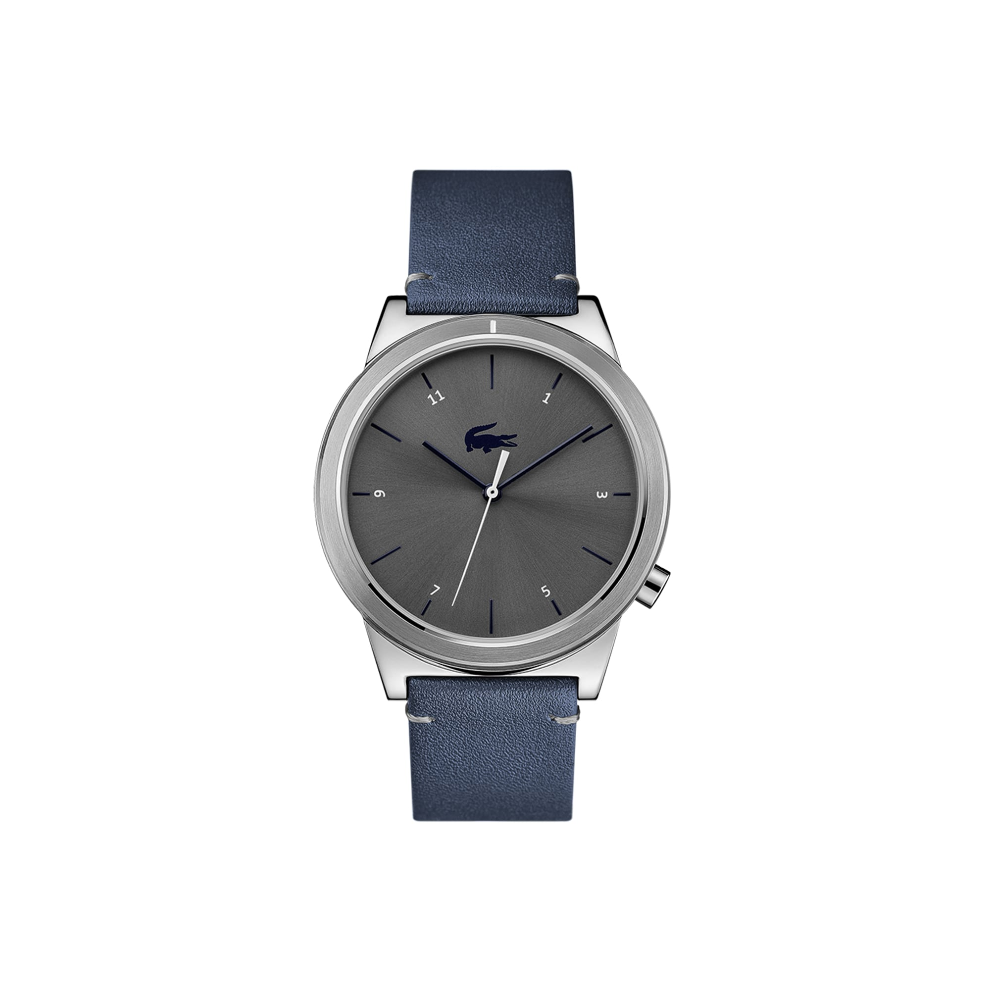 c7664fec7 Men's Motion Watch with Blue Leather Strap | LACOSTE