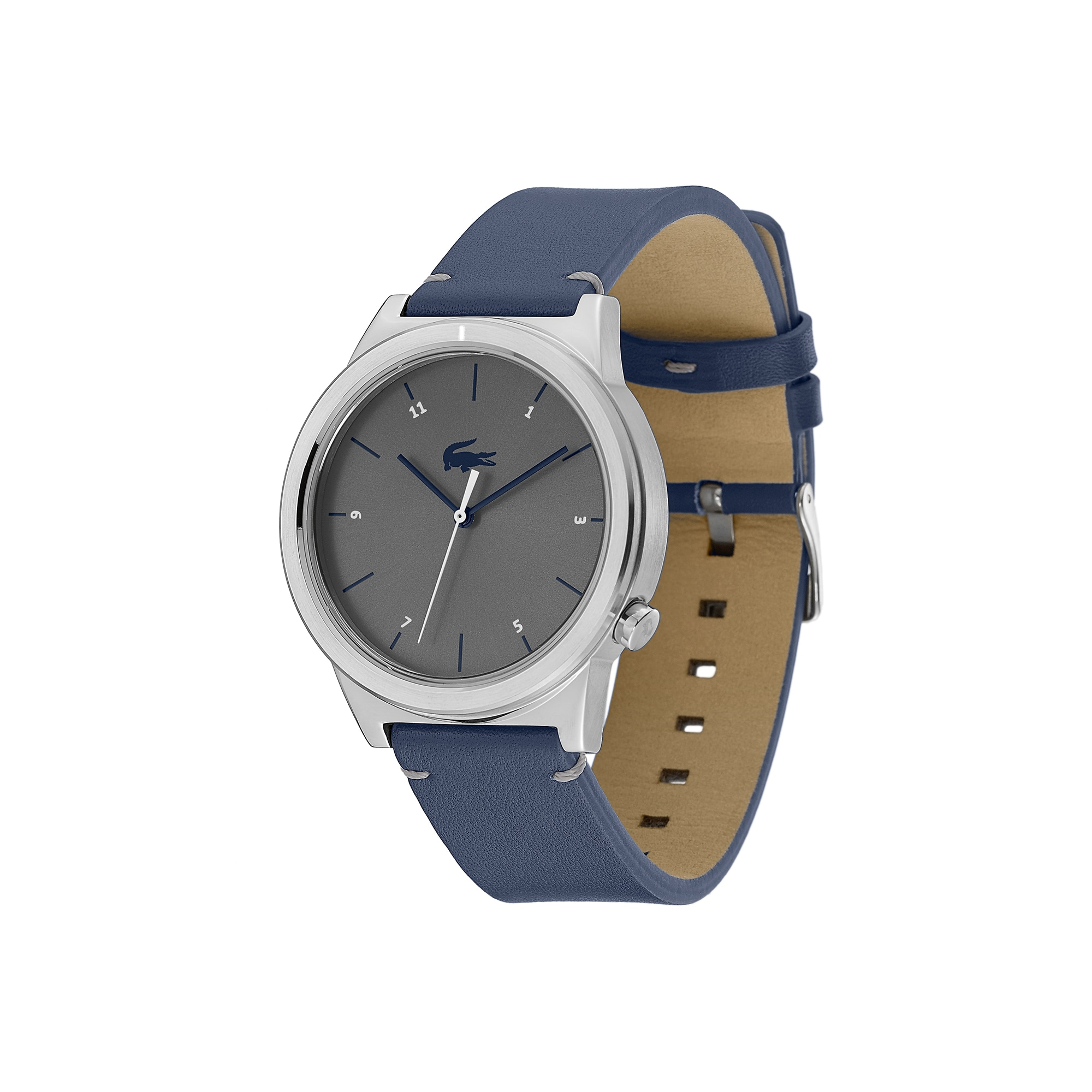 Men's Motion Watch with Blue Leather Strap