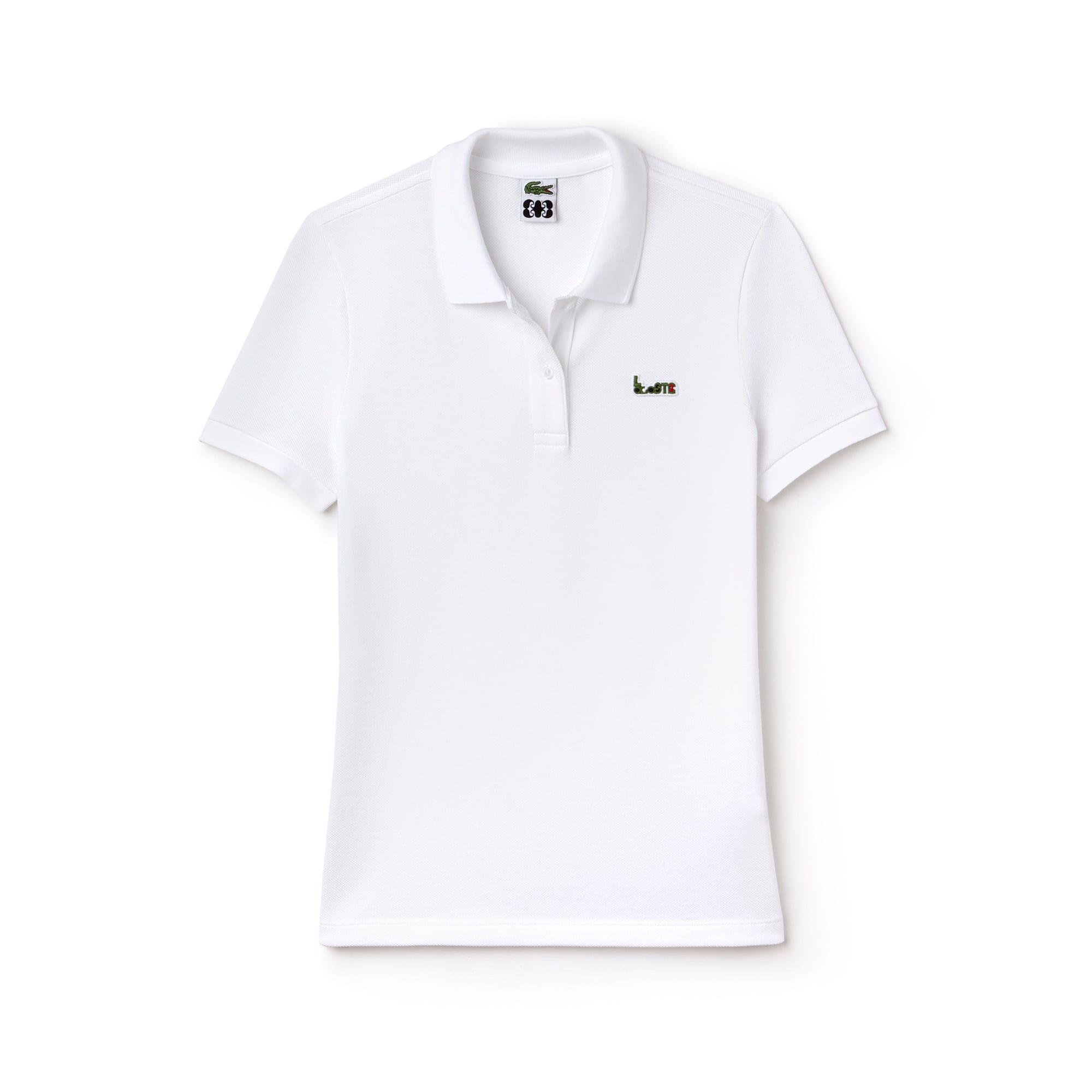Women's  M/M Collab Slim Fit Thick Cotton Piqué Polo