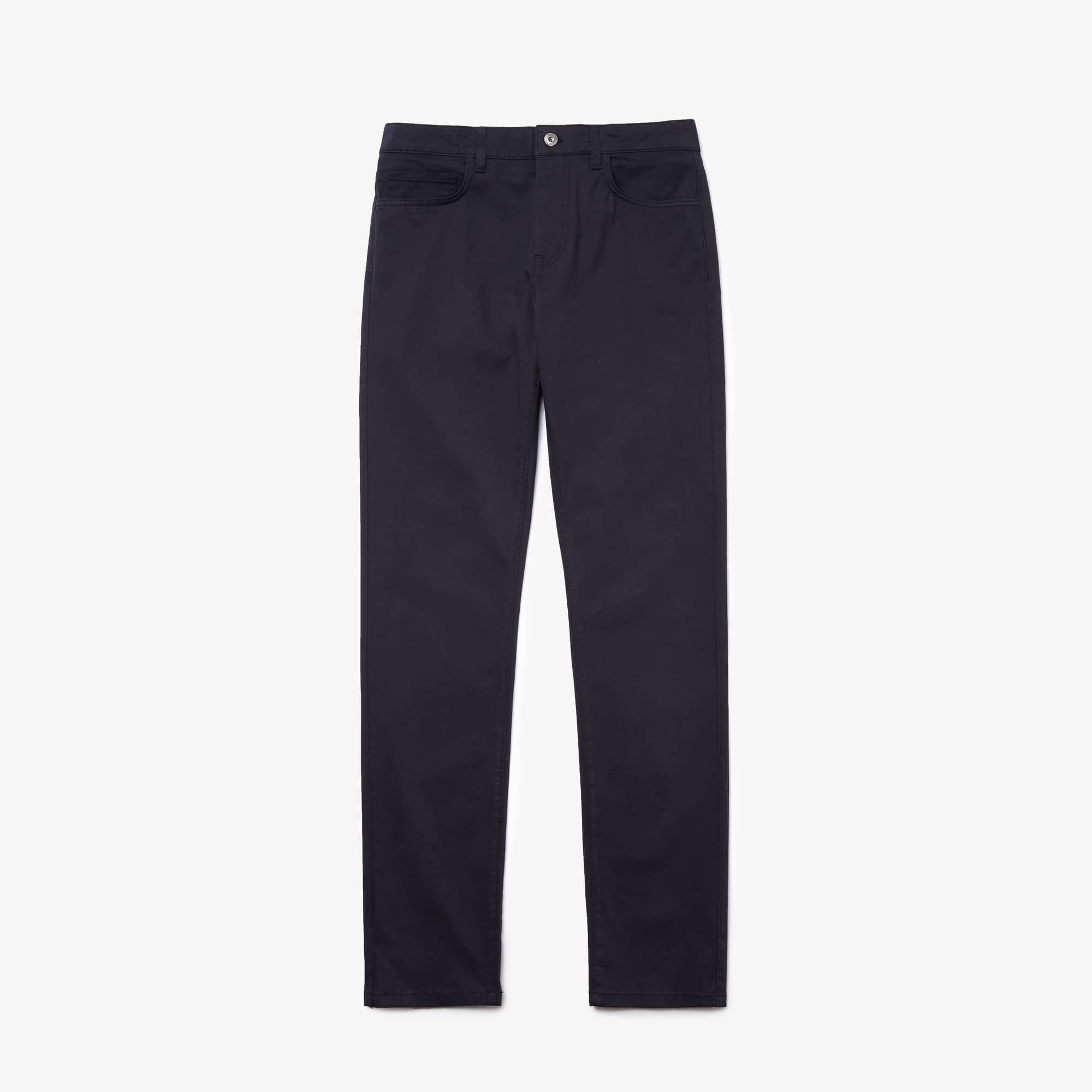 Men's Slim Fit Stretch Cotton Pants