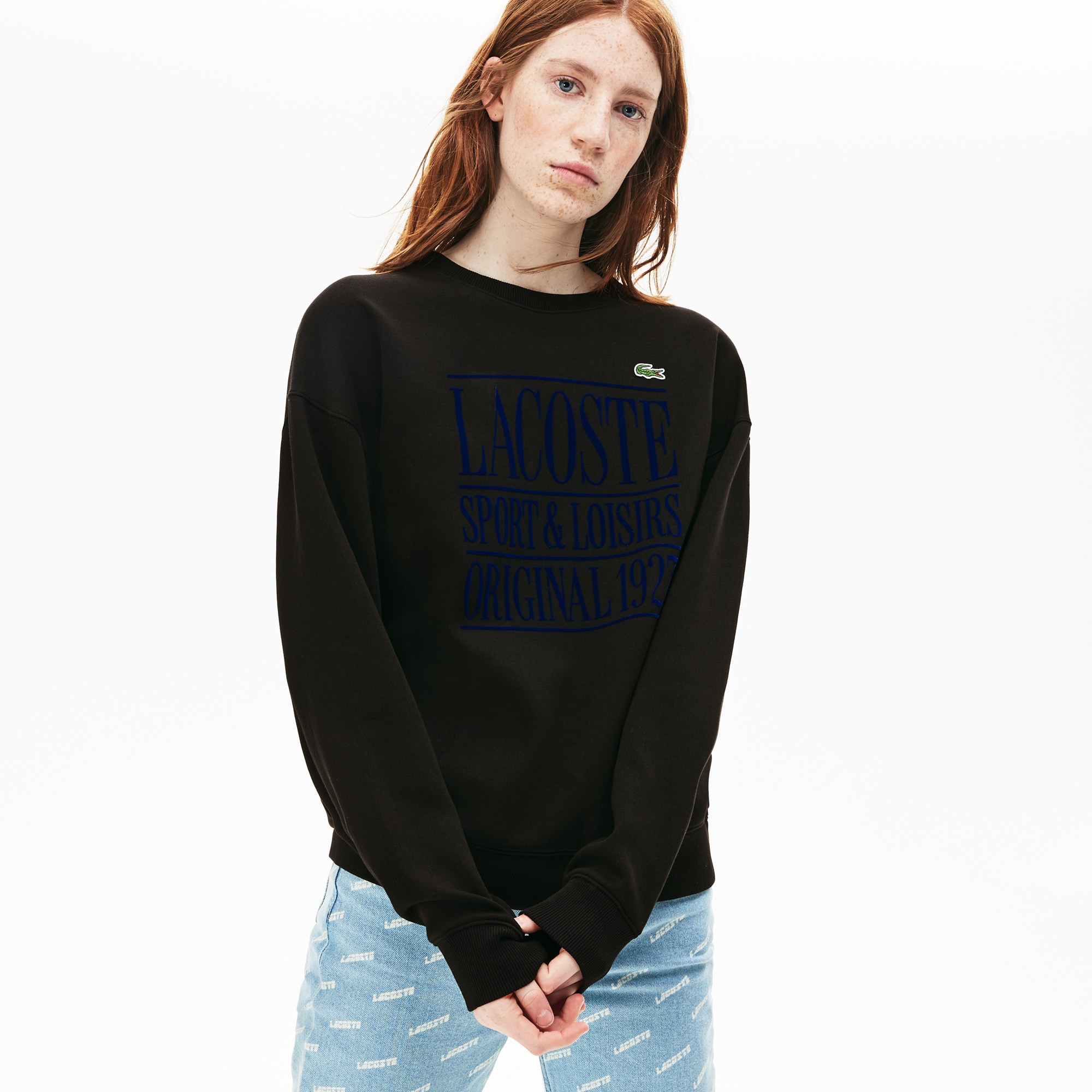 Unisex LIVE Crew Neck Fleece Sweatshirt