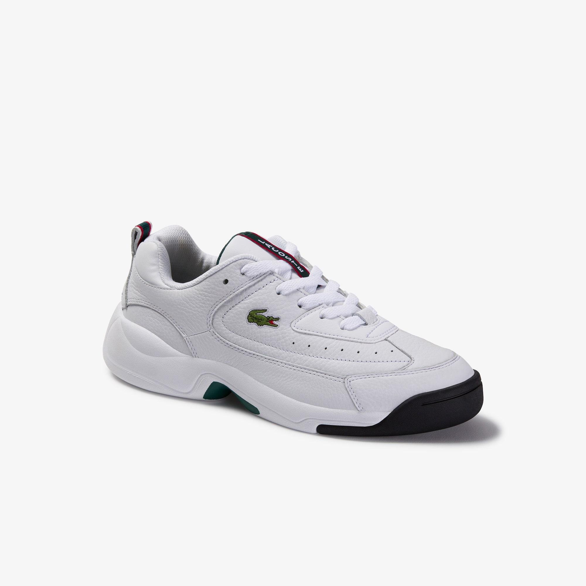 Men's V-Ultra OG Leather Sneakers   LACOSTE
