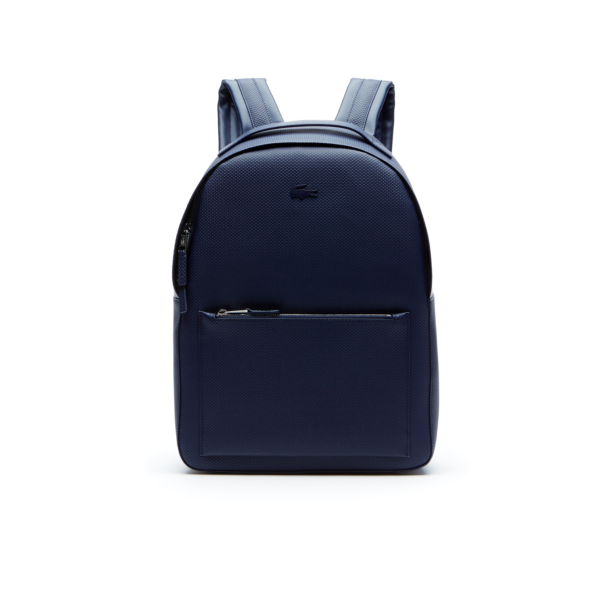 Men's Chantaco Matte Piqué Leather Backpack