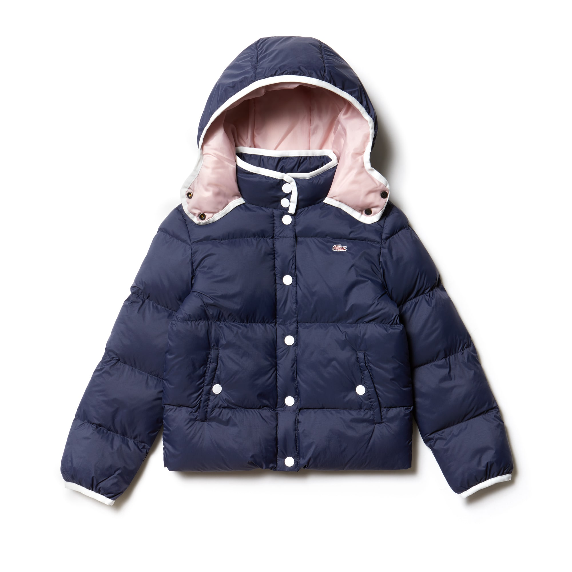 Girls' Hooded Quilted Jacket