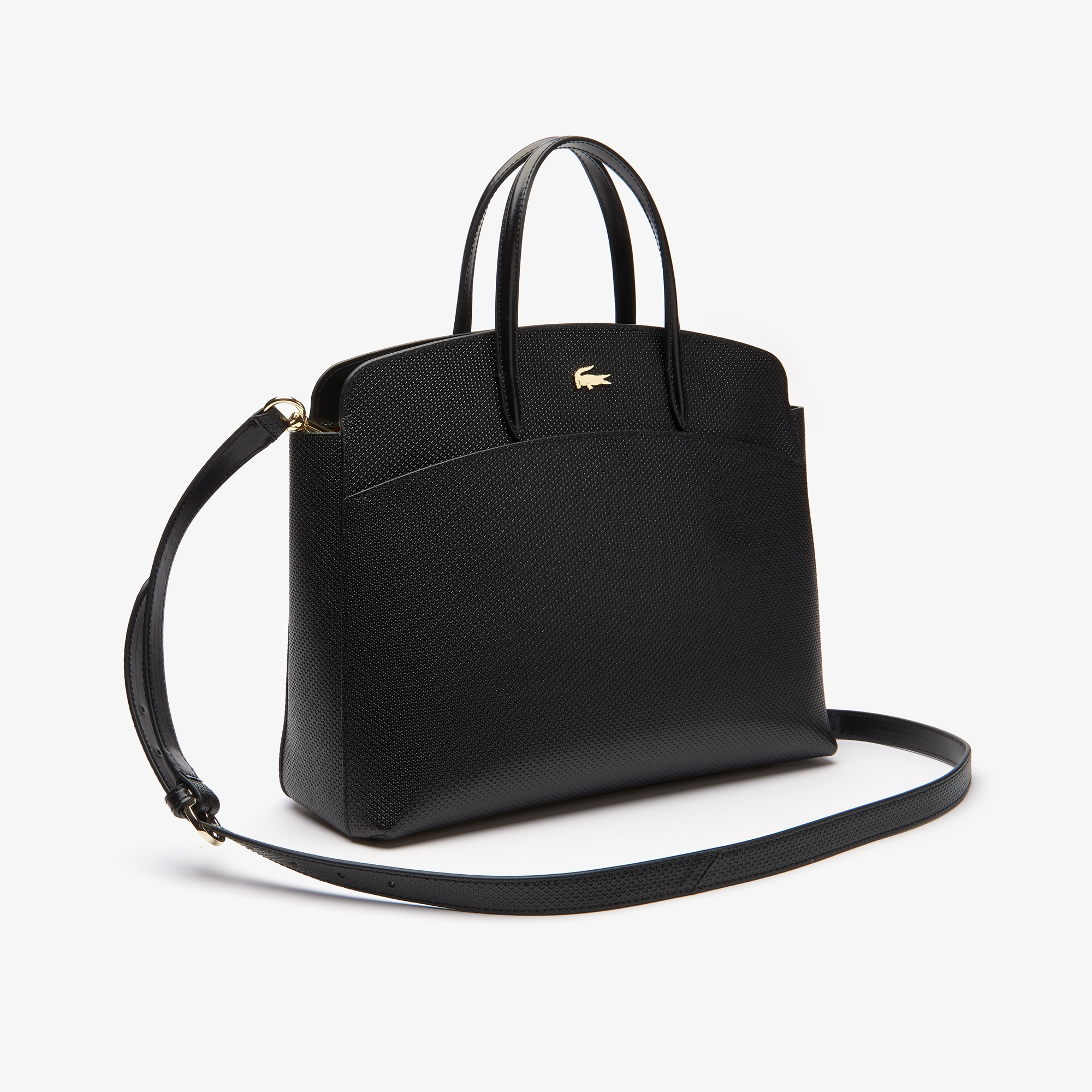 Women's Chantaco Leather Zip Pocket Tote Bag