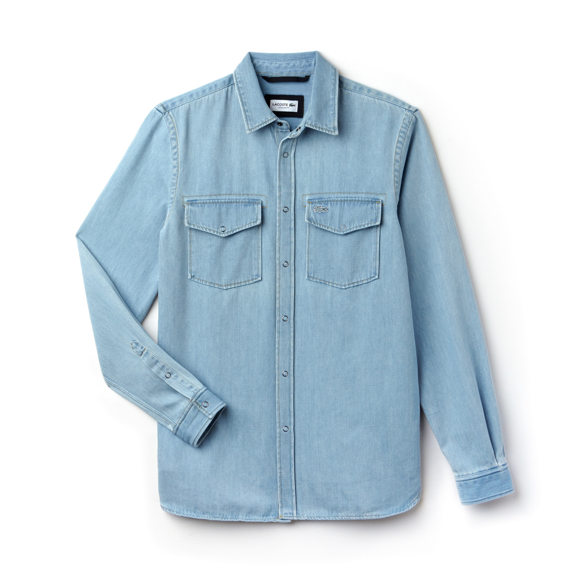 Men's Regular Fit Denim Shirt