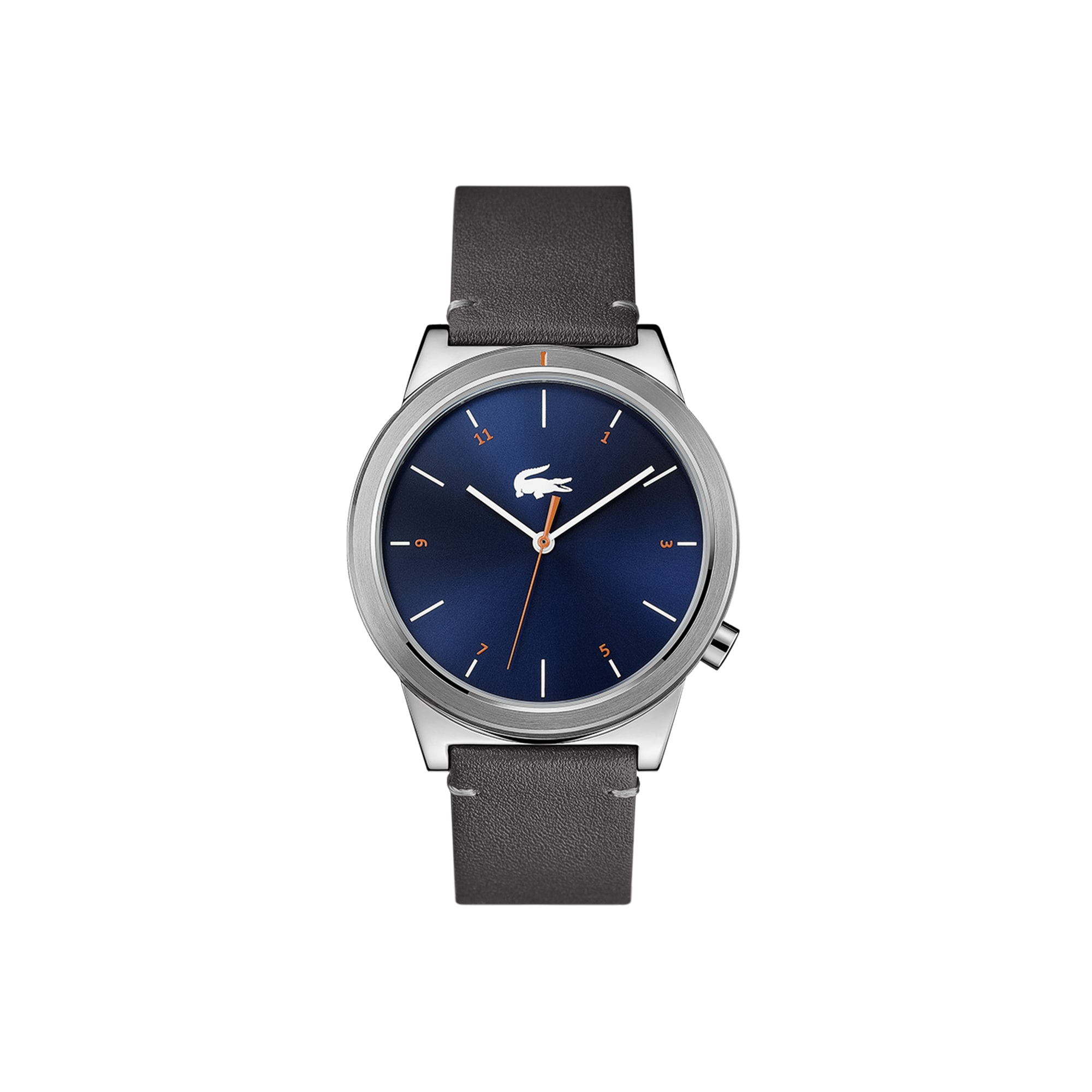 88caaf90ea9 Men s Motion Watch with Grey Leather Strap
