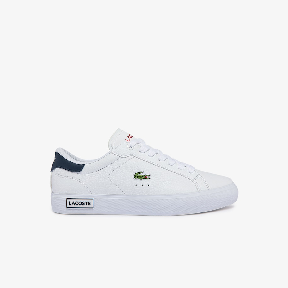 Women's Powercourt Leather and Synthetic Sneakers