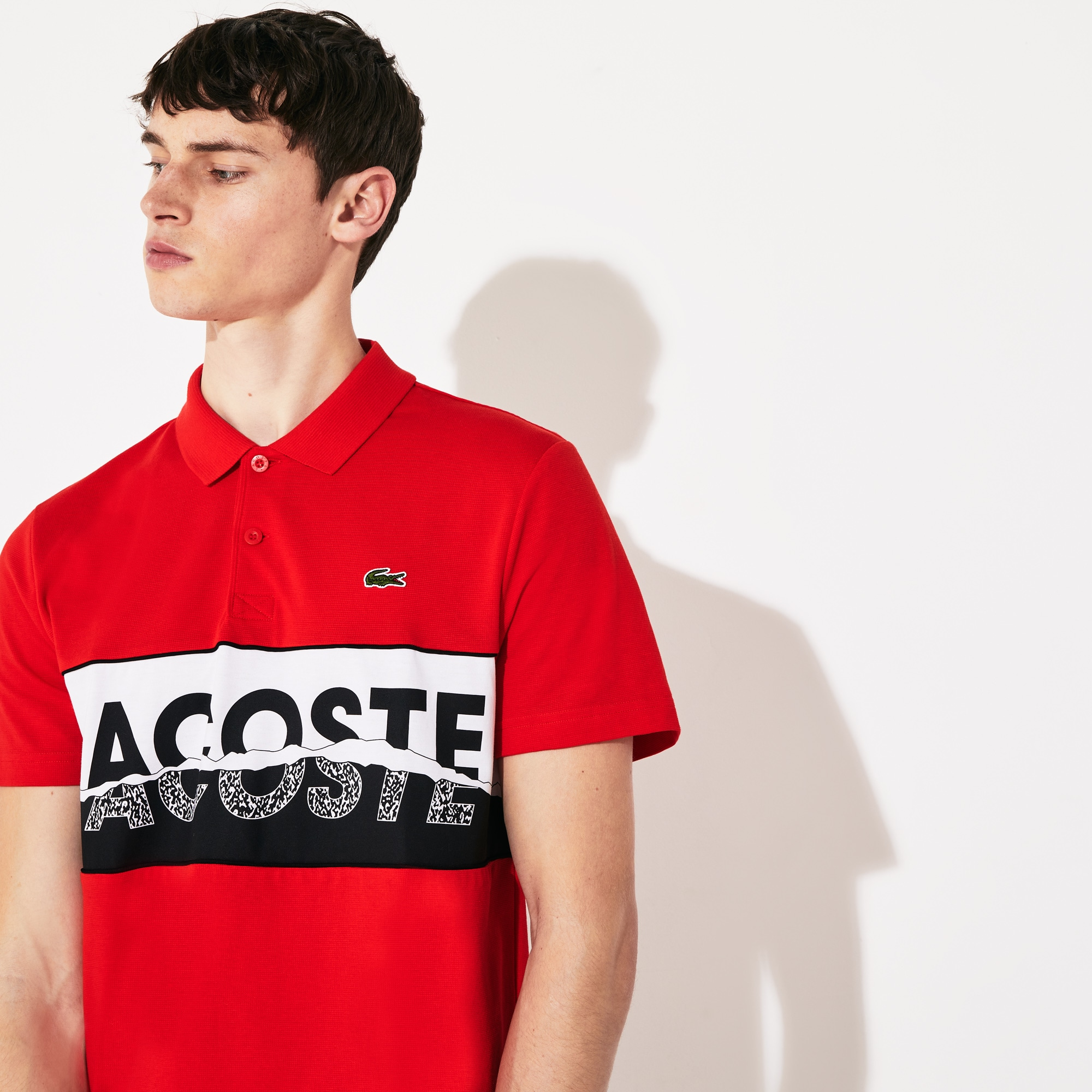 PH3251 Lacoste Mens Short Sleeve Casual Elegance Pique with Pocket Slim Polo