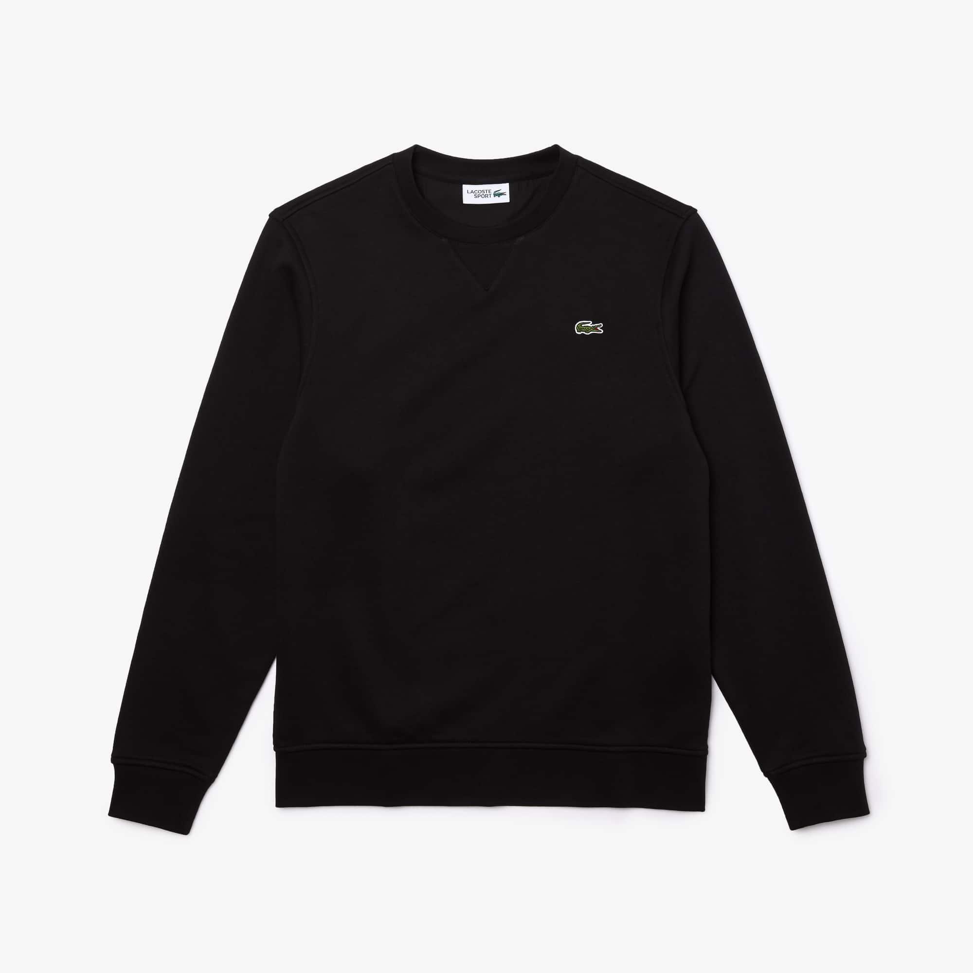 Mens 라코스테 Lacoste SPORT Cotton Blend Fleece Sweatshirt