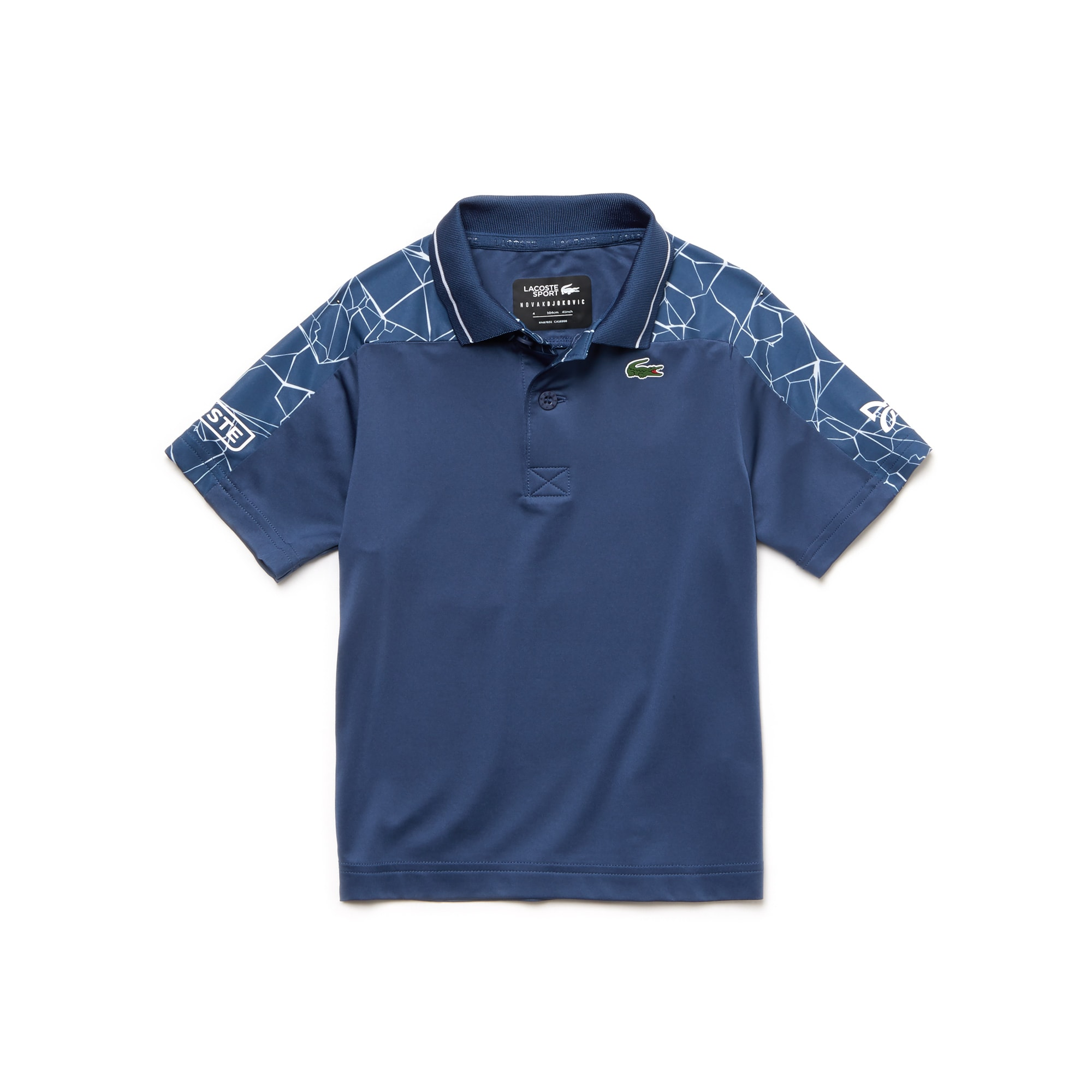 Boys' SPORT Stretch Technical Jersey Polo-  x Novak Djokovic Off Court Premium Edition
