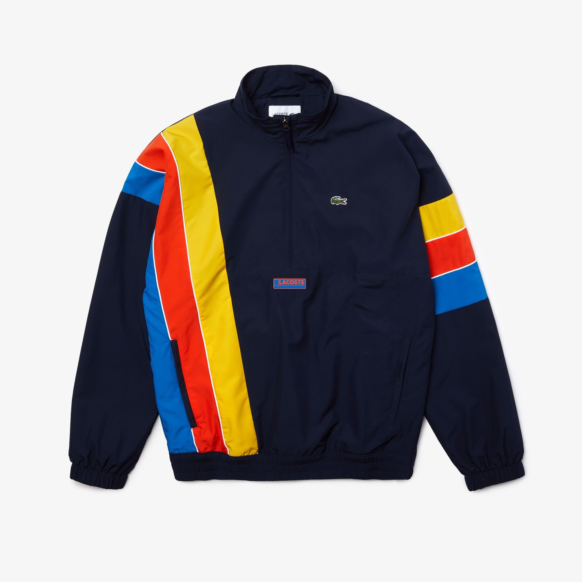 라코스테 스포츠 지퍼넥 경량 방수 자켓 Lacoste Mens SPORT Zip Neck Lightweight Water-Resistant Jacket