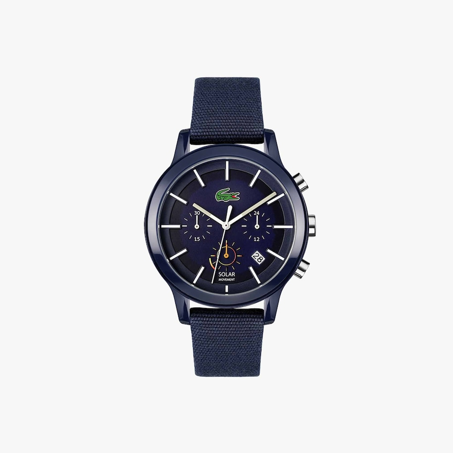 Lacoste.12.12 Solar Chronograph Blue Watch