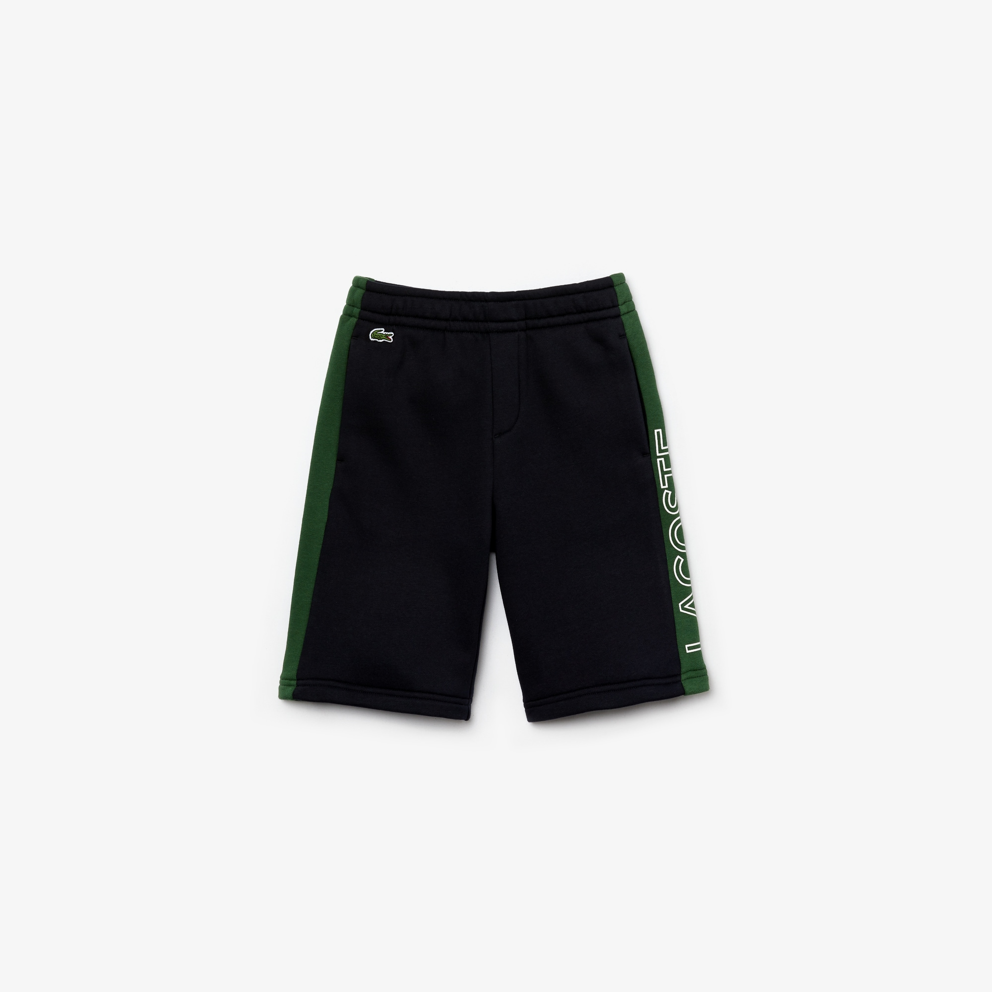 Boys 라코스테 Lacoste SPORT Two-Tone Fleece Shorts