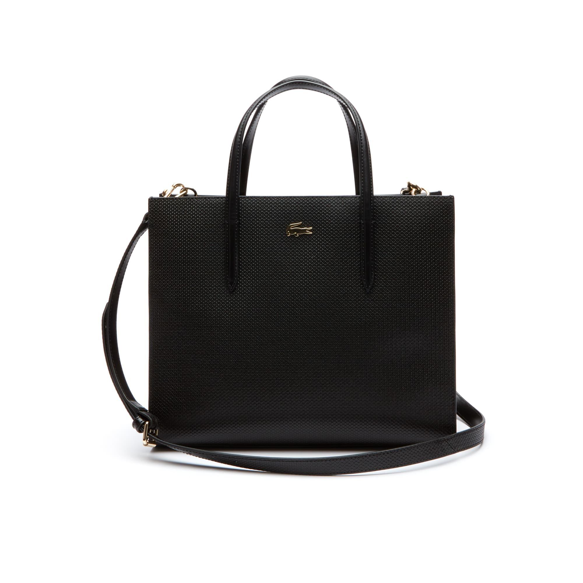 Women's Chantaco Dual Carry Piqué Leather Large Zip Tote