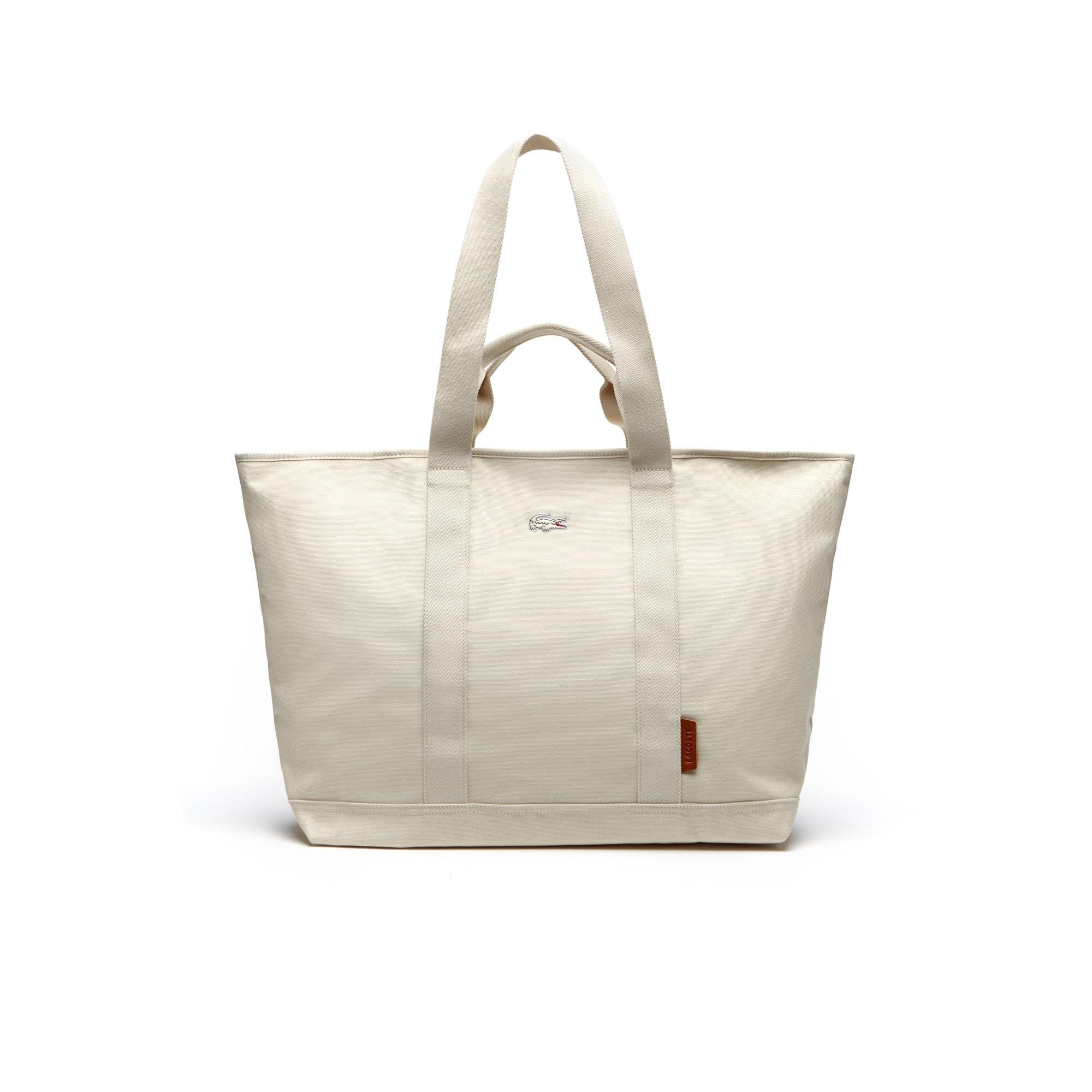 Men's Summer Cotton Canvas Tote Bag