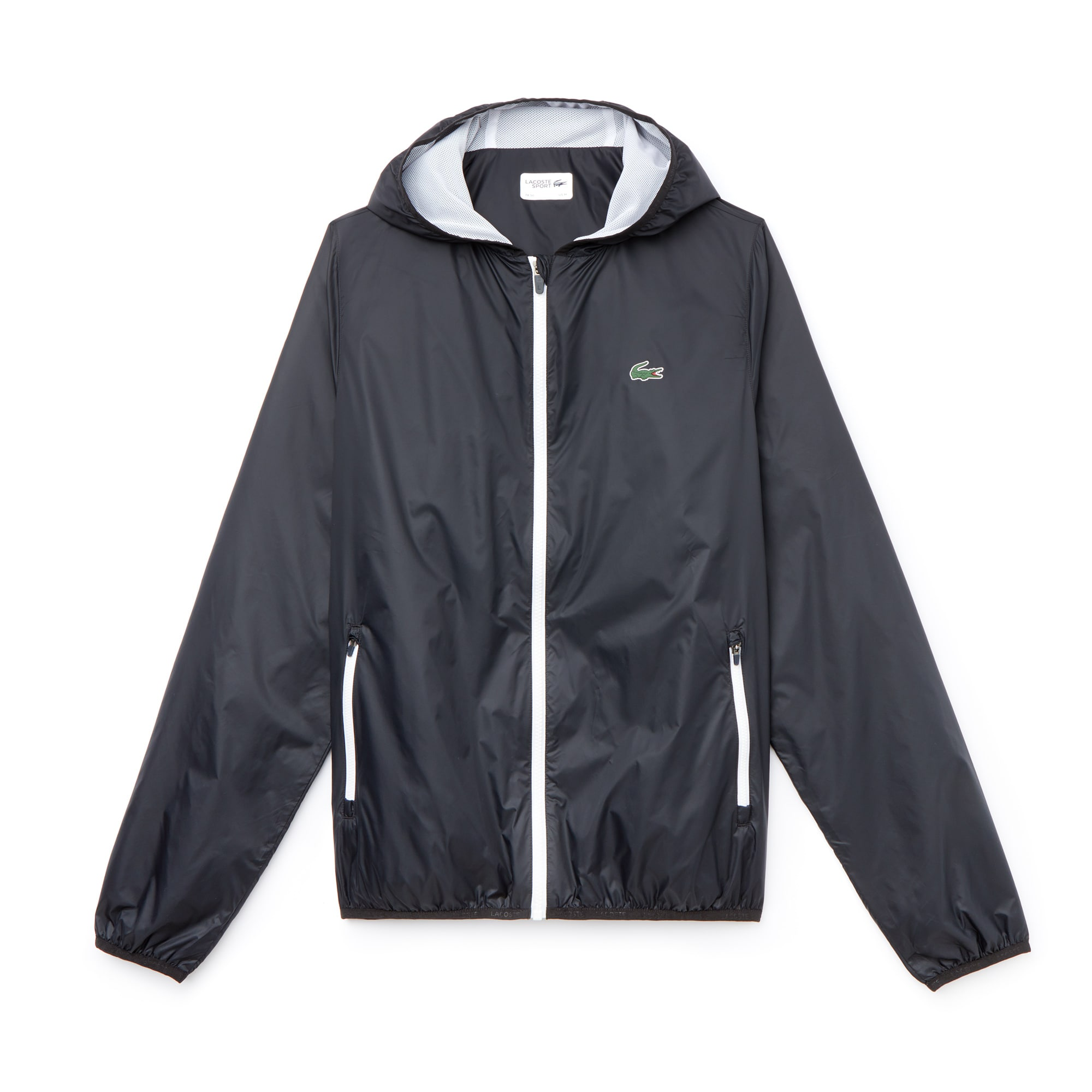 Men's SPORT Hooded Technical Tennis Jacket