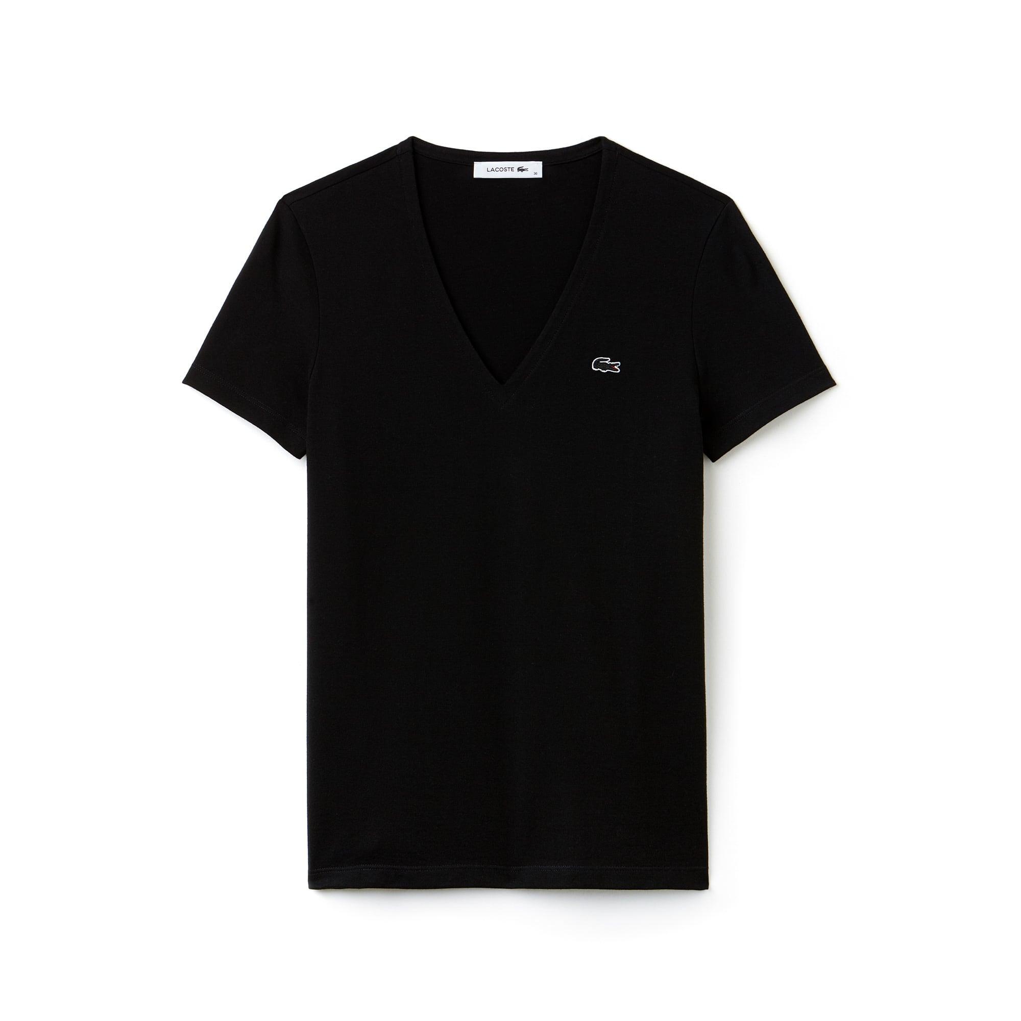 Women's Slim Fit V-Neck T-Shirt
