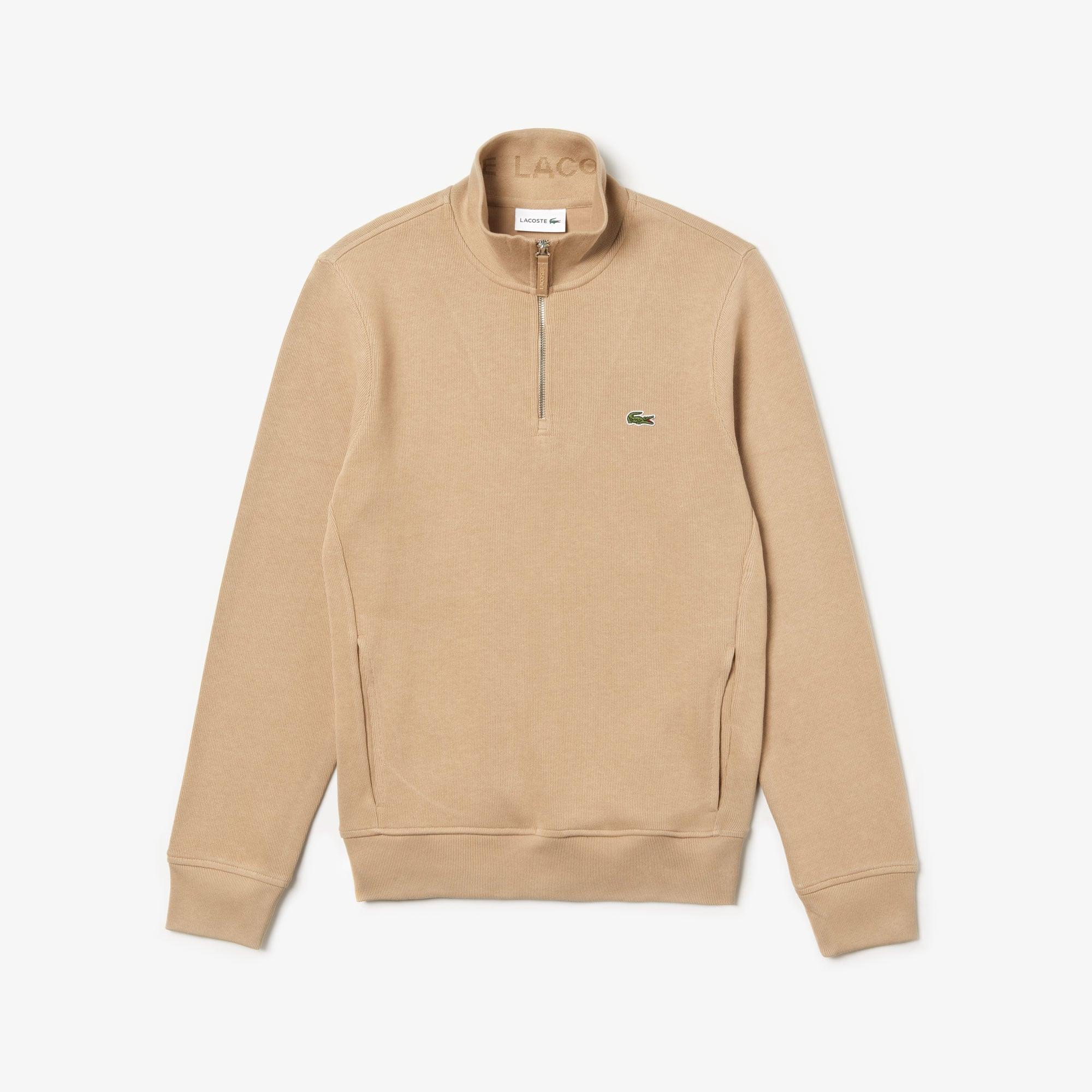 Lacoste Tops Men's Standup-Collar Cotton Sweatshirt