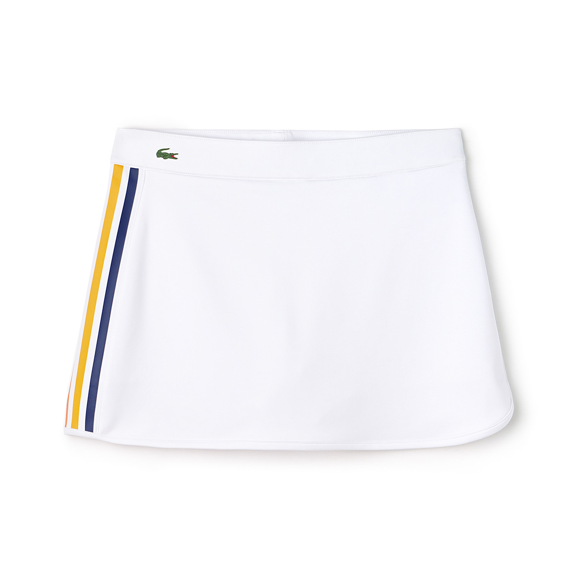 Women's SPORT Contrast Bands Tech Jersey Tennis Skirt
