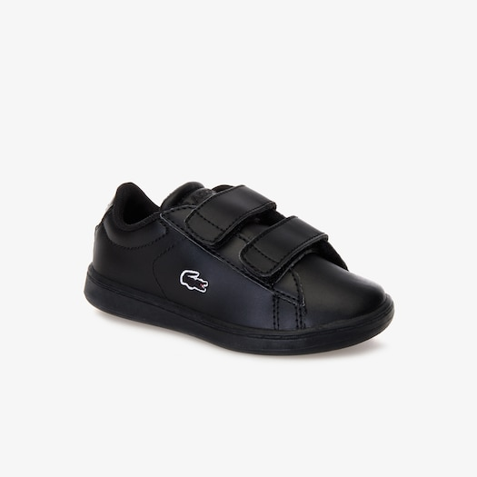 라코스테 찍찍이 운동화 Lacoste Infants Carnaby Evo Lace-up Mesh-lined Synthetic Sneakers