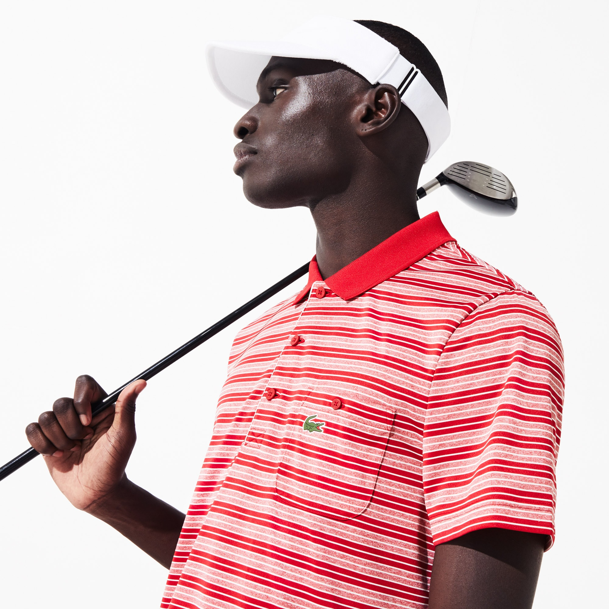Lacoste Tops Men's SPORT Breathable Jersey Golf Polo
