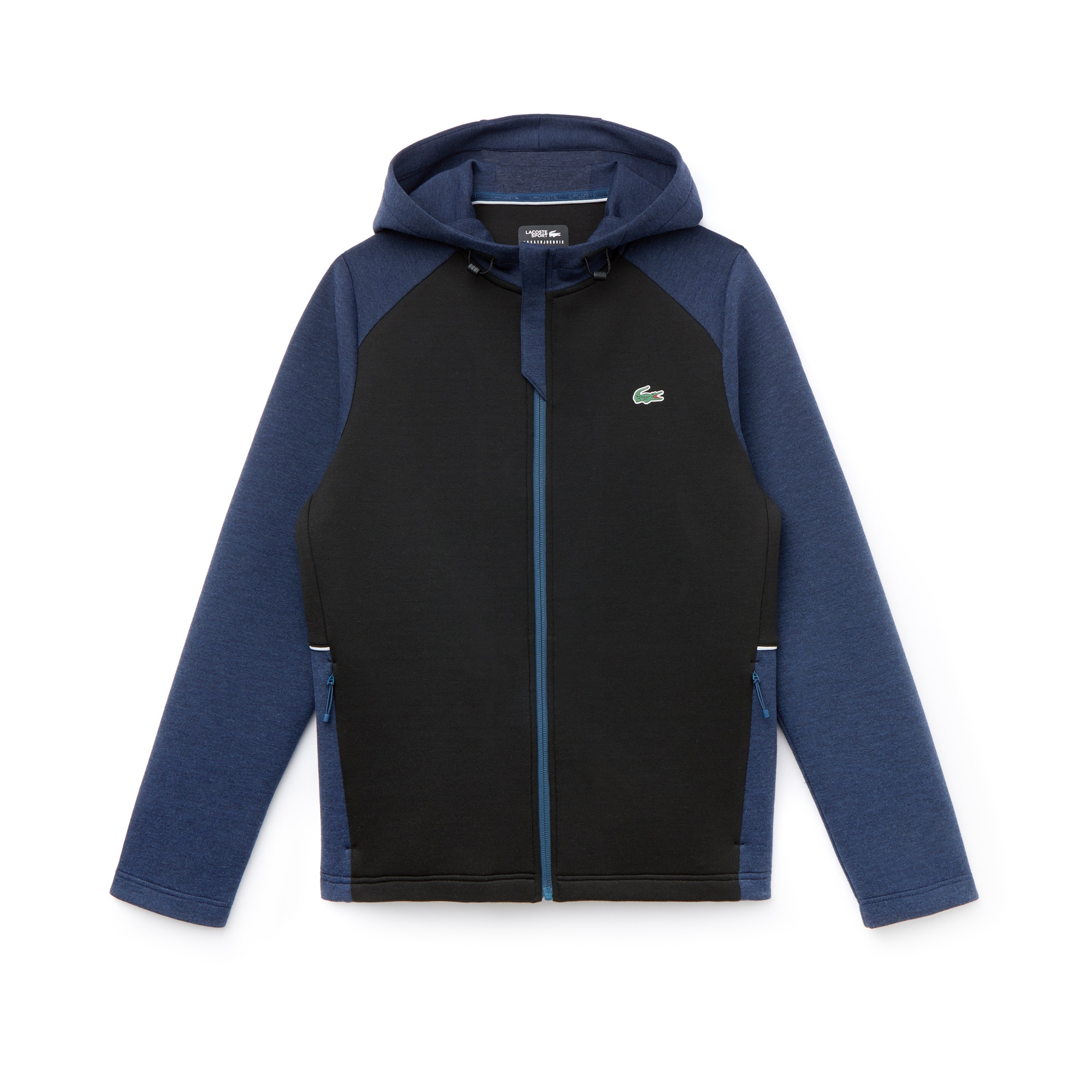 Men's SPORT Bicolour Technical Midlayer Hooded Sweatshirt - Novak Djokovic Collection