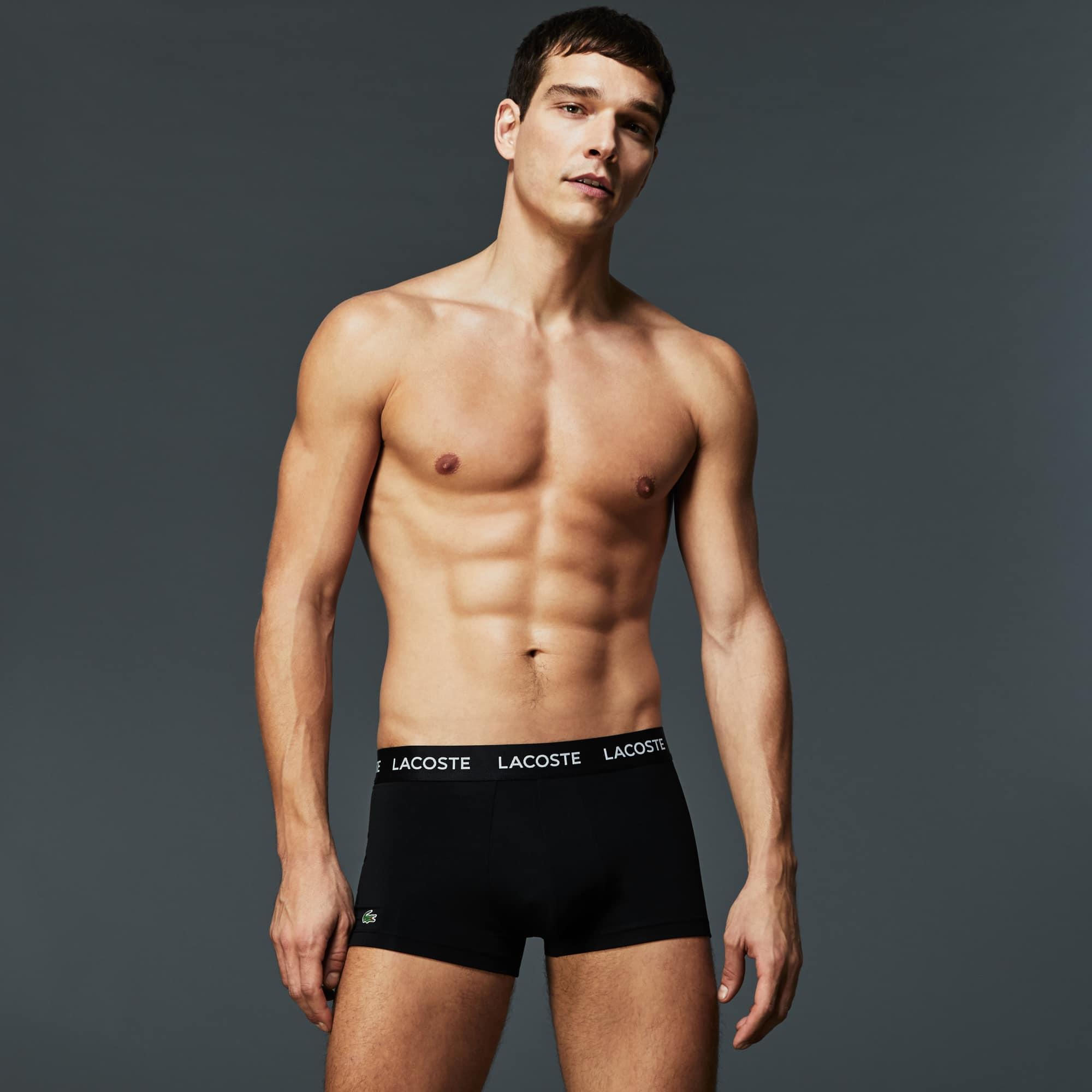 Men's Three-Pack Micro Boxer Briefs