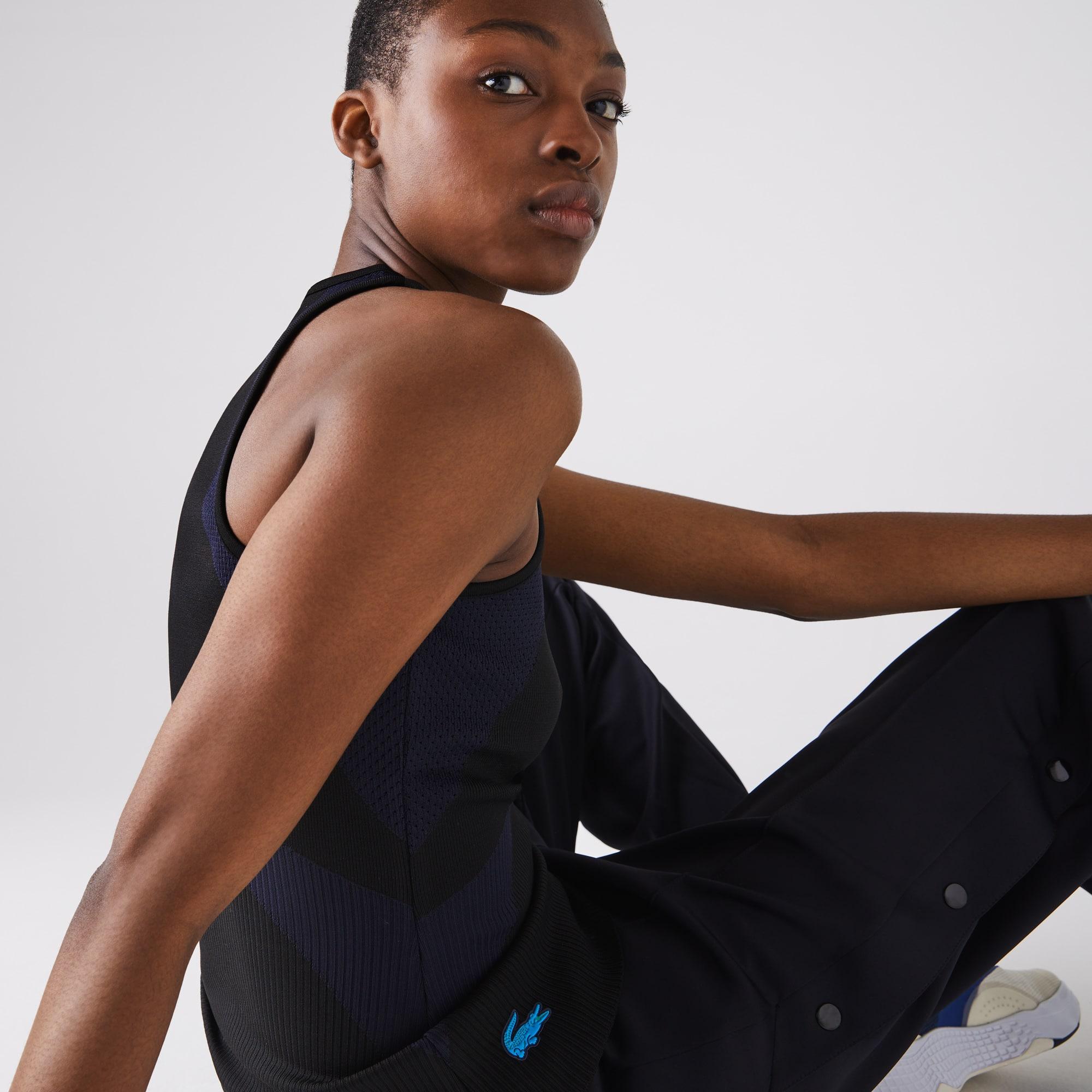 Lacoste Womens SPORT Ergonomic Knit Tank Top