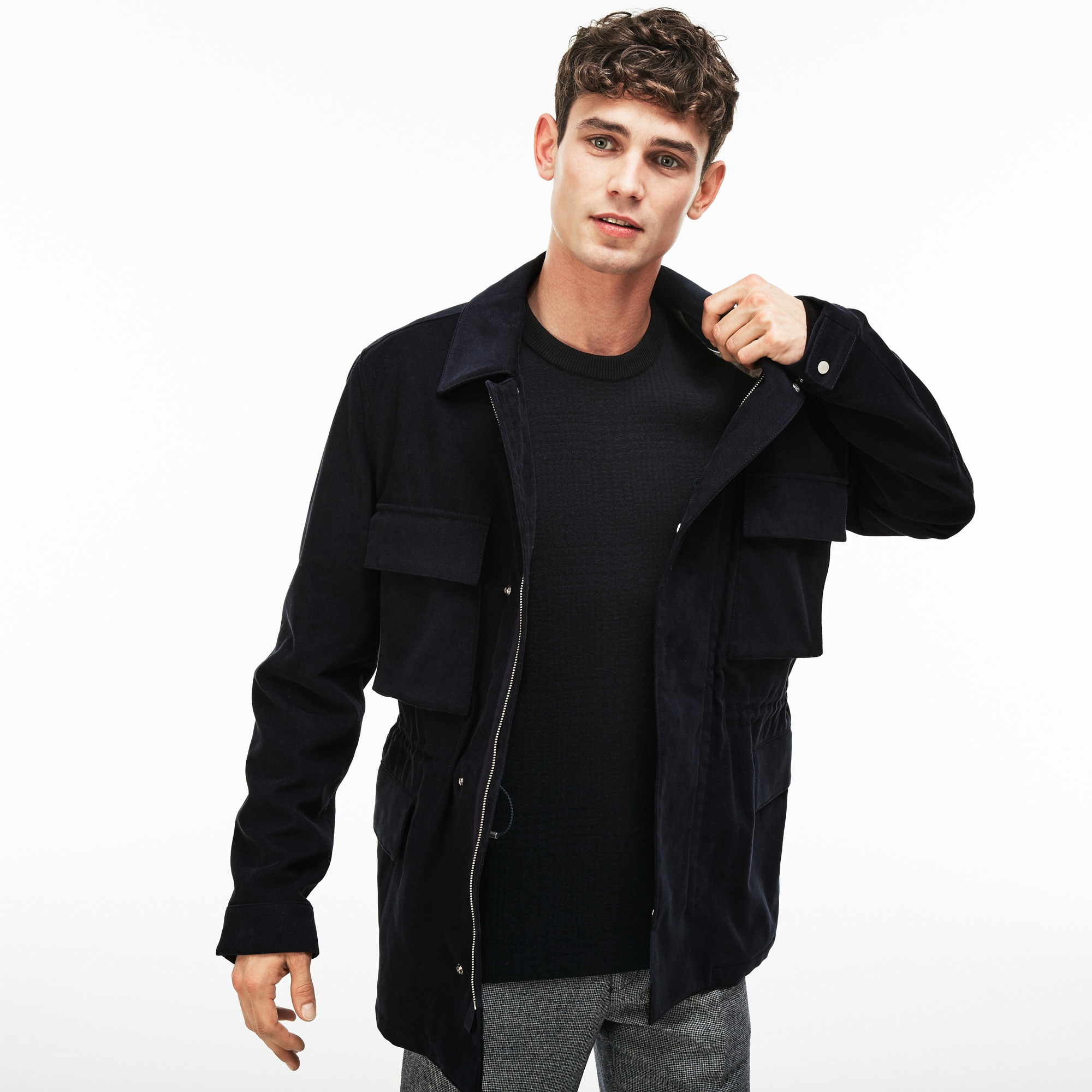 Men's Water-Resistant Cotton Moleskin Coat