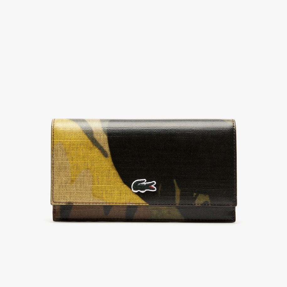 Women's Robert George Coated Print Canvas Wallet