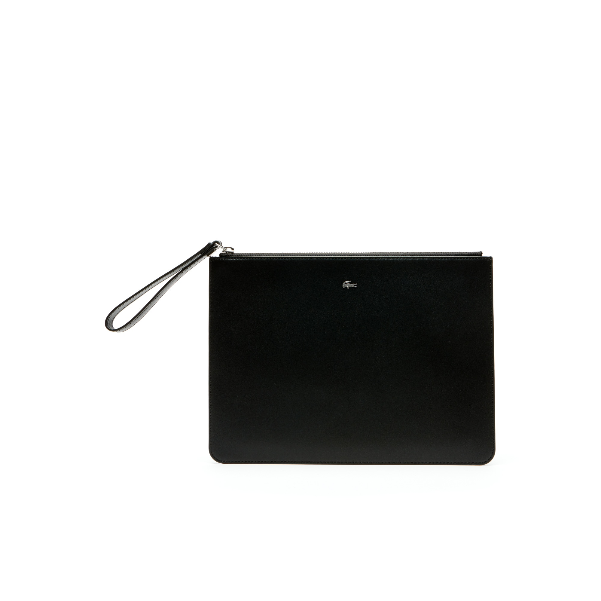 Men's Fitzgerald Colorblock Leather Zip Pouch