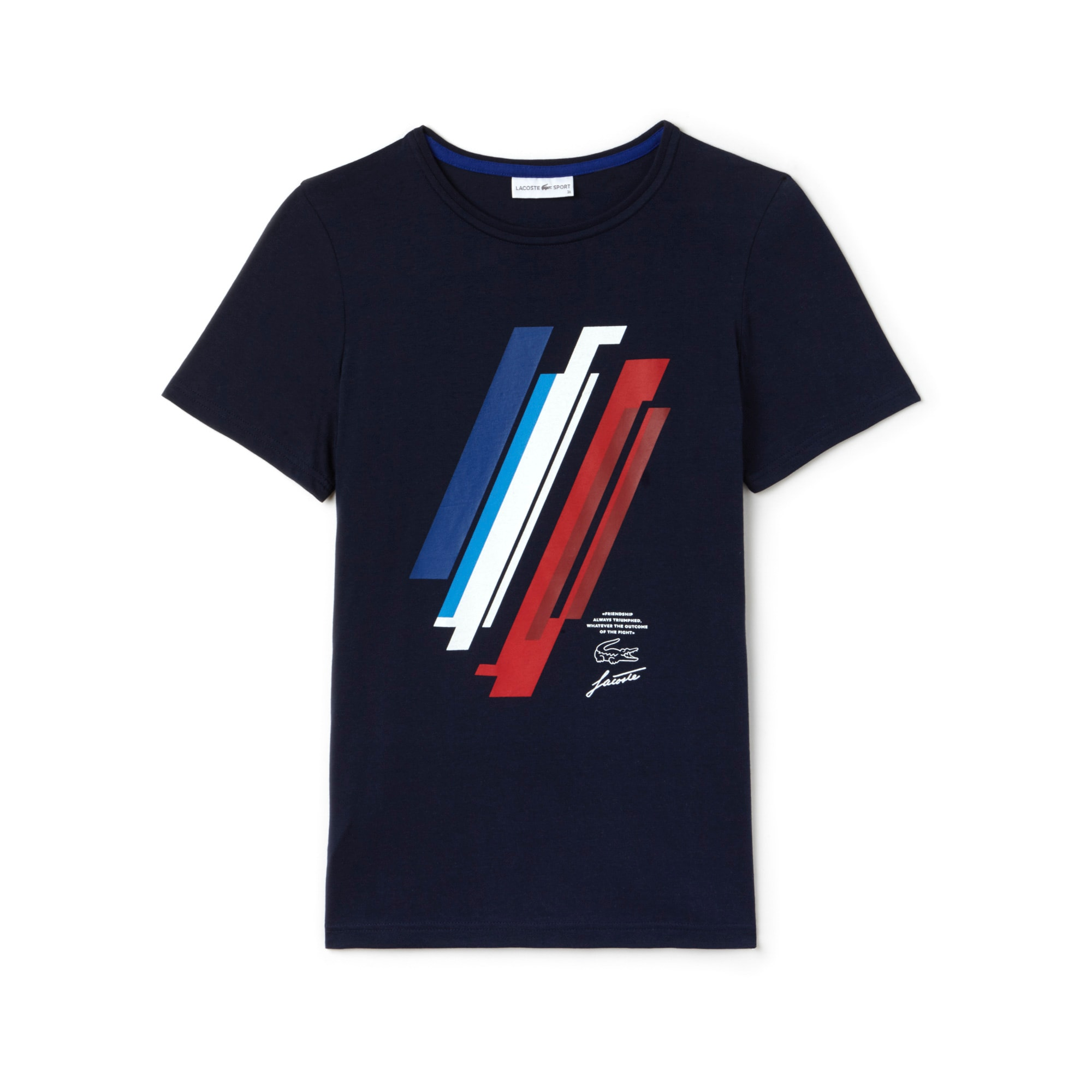 Women's Tricolor Collection Print Jersey T-shirt