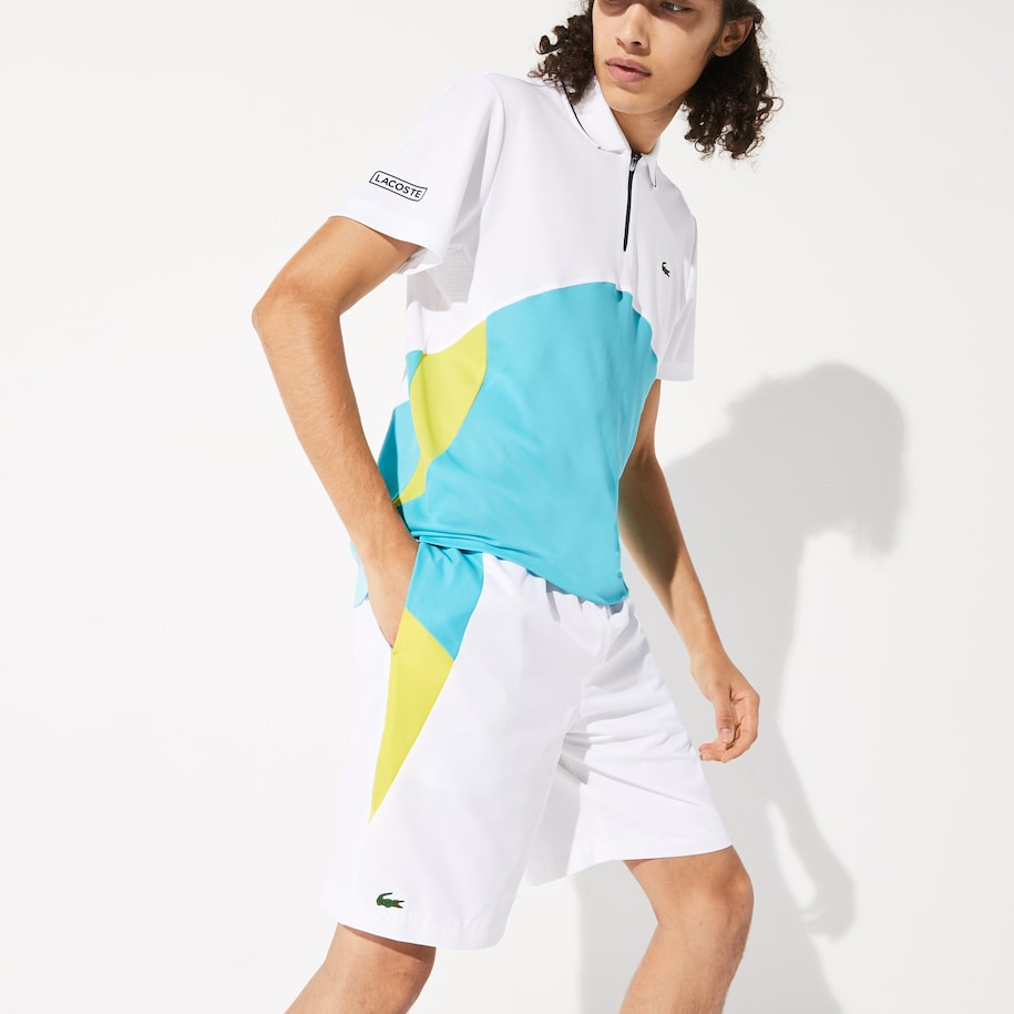 Men's SPORT Lightweight Colorblock Tennis Shorts