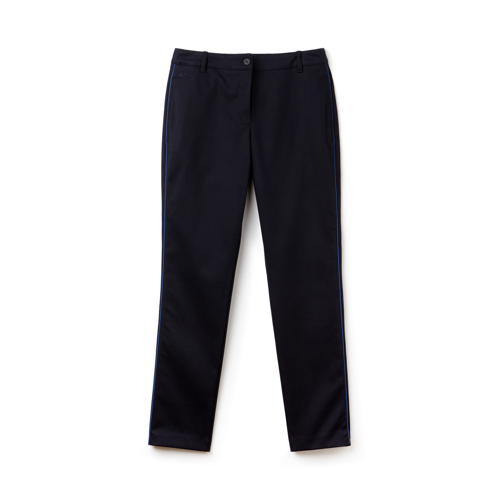 Women's Slim Fit Piping Piqué Pants