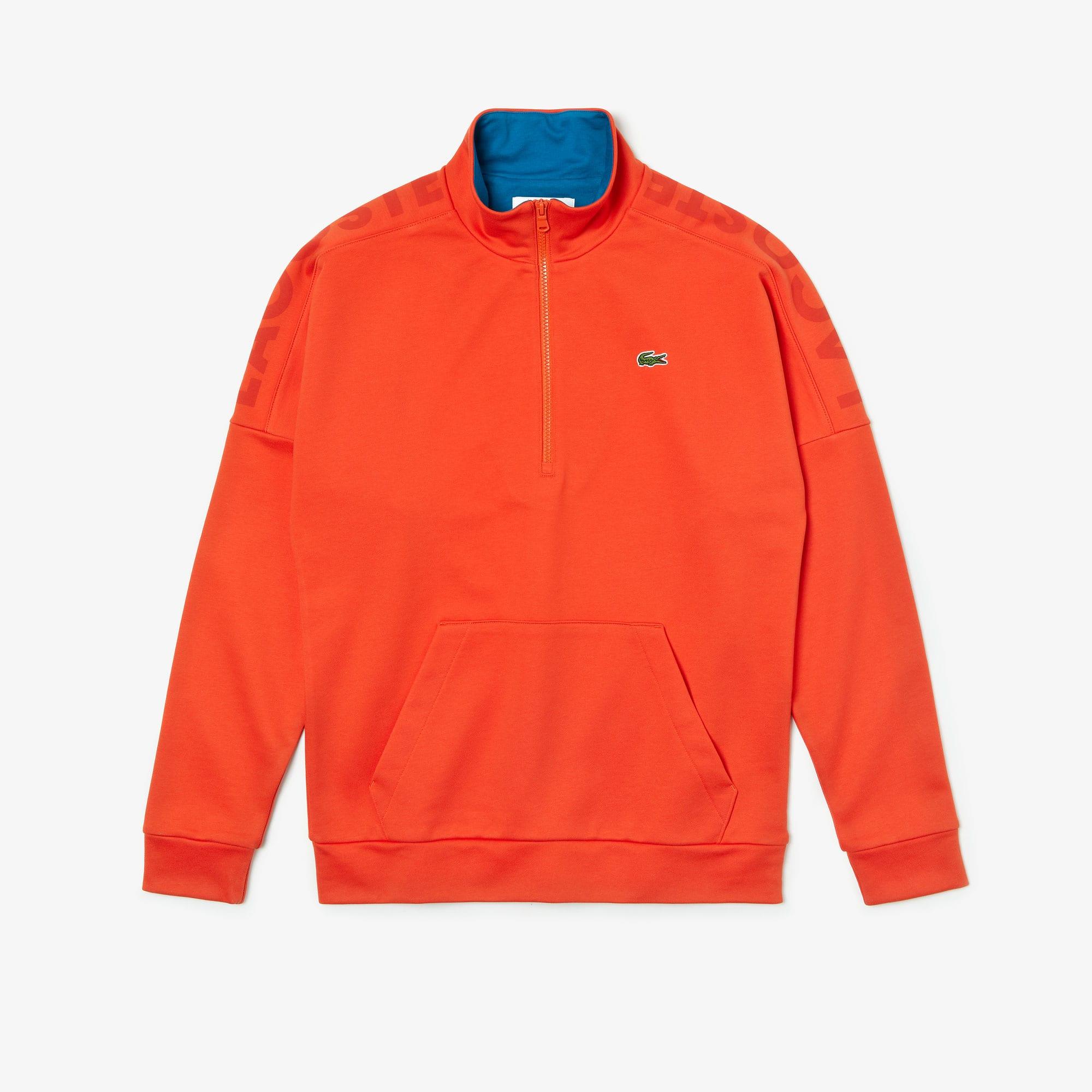 Lacoste Tops Men's SPORT Zip Standup Neck Cotton Sweatshirt